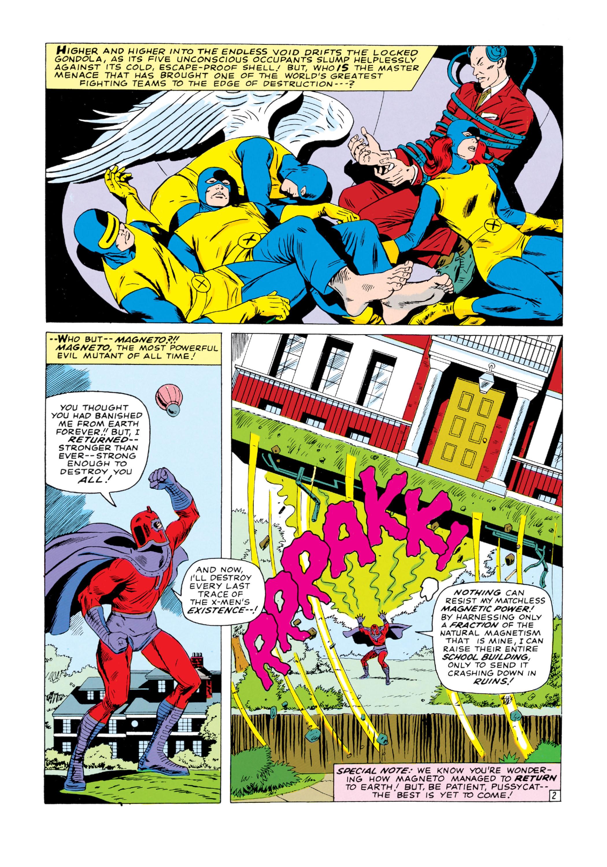 Read online Uncanny X-Men (1963) comic -  Issue #18 - 3