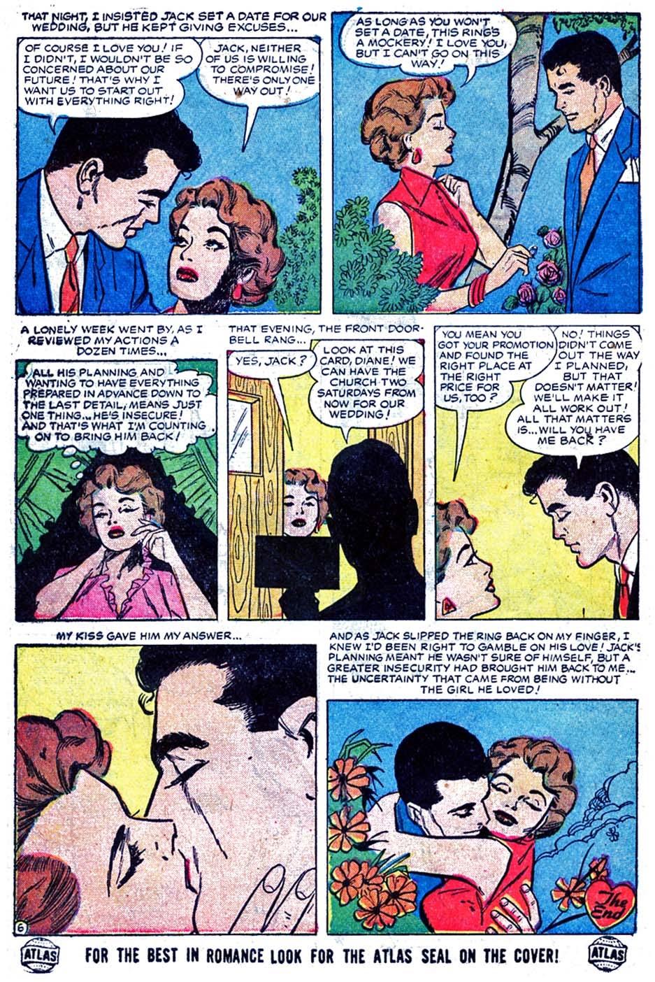 Love Romances (1949) issue 52 - Page 32