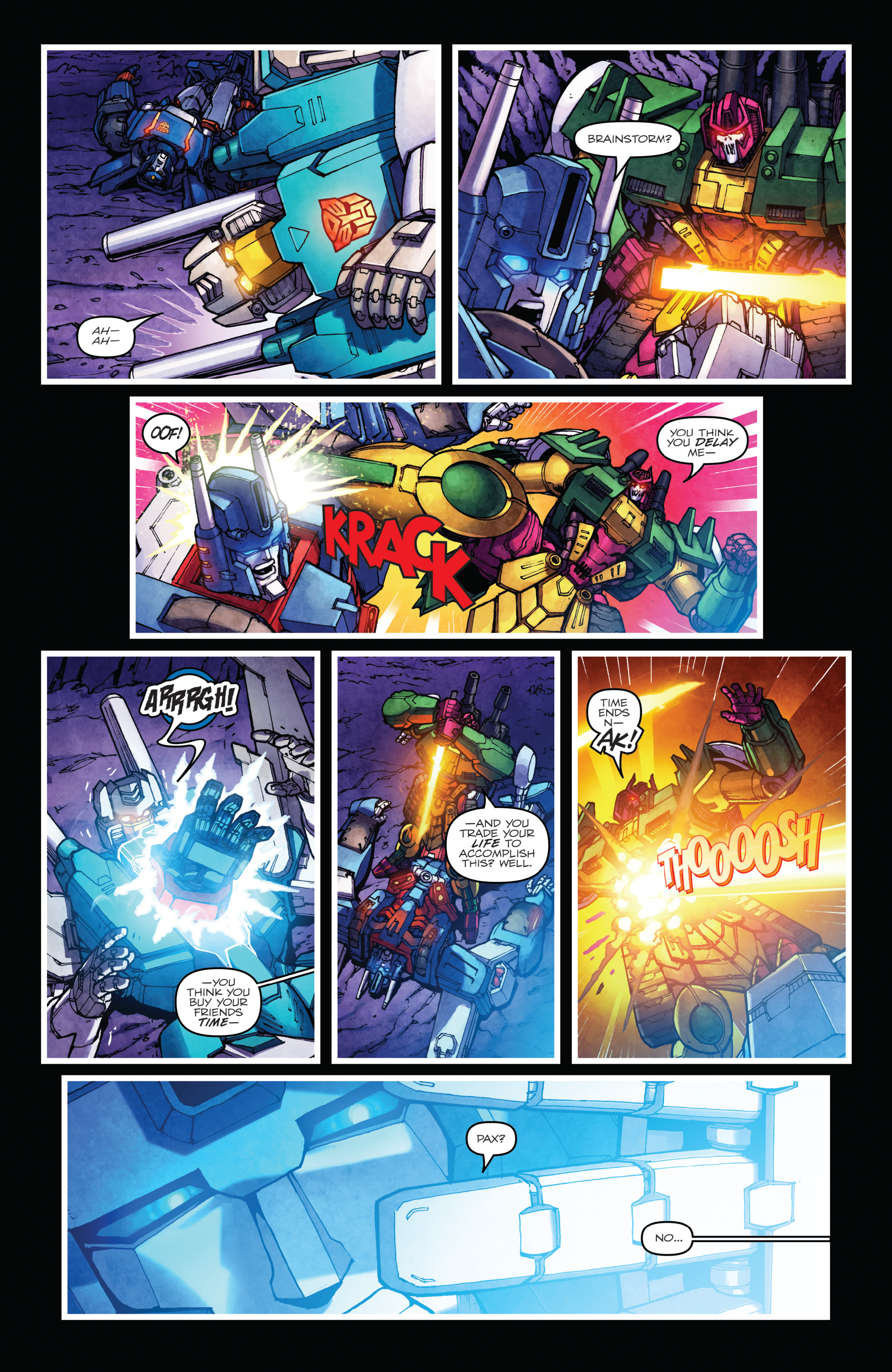 Read online The Transformers: Dark Cybertron Finale comic -  Issue # Full - 122