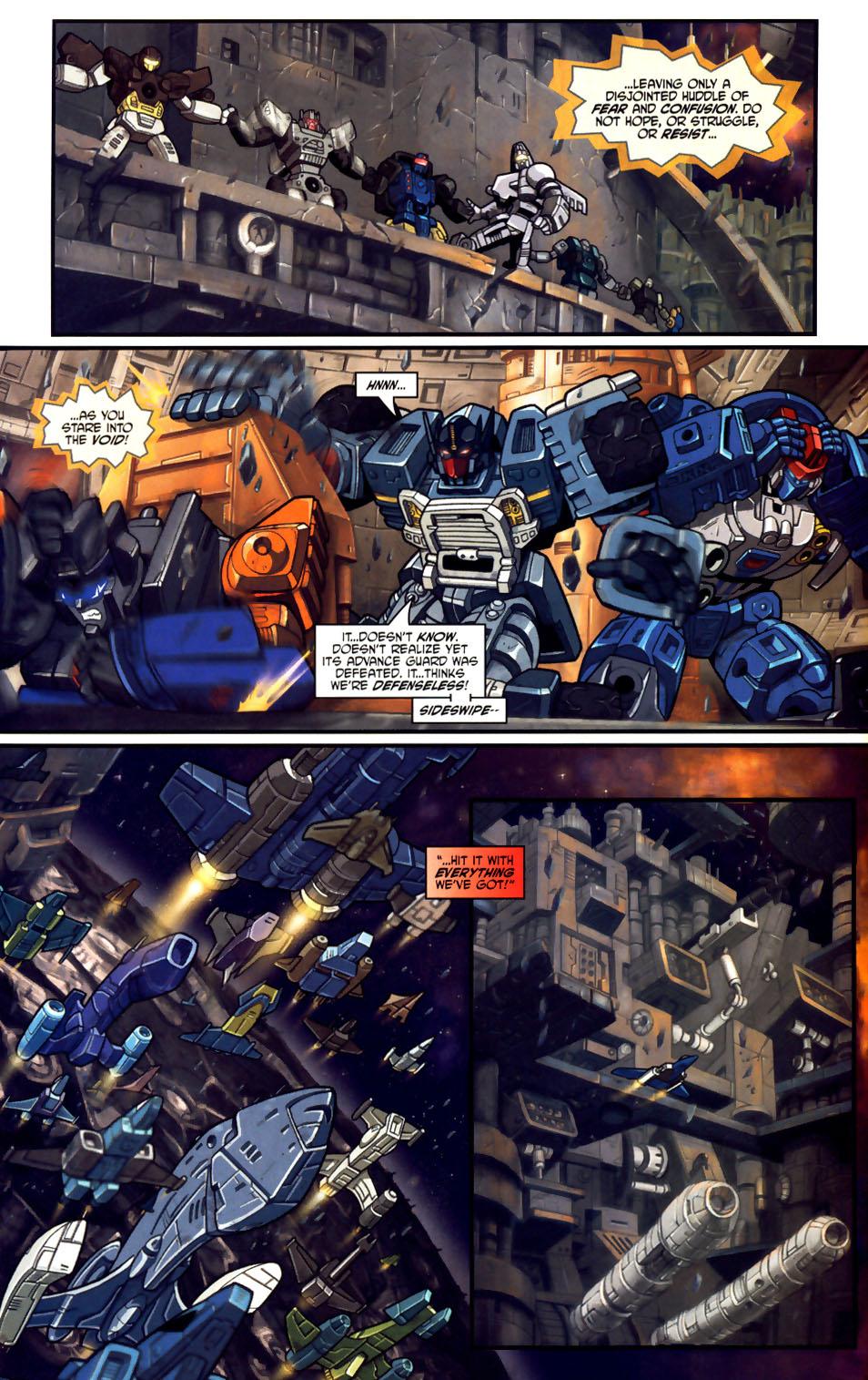 Read online Transformers Armada comic -  Issue #18 - 14