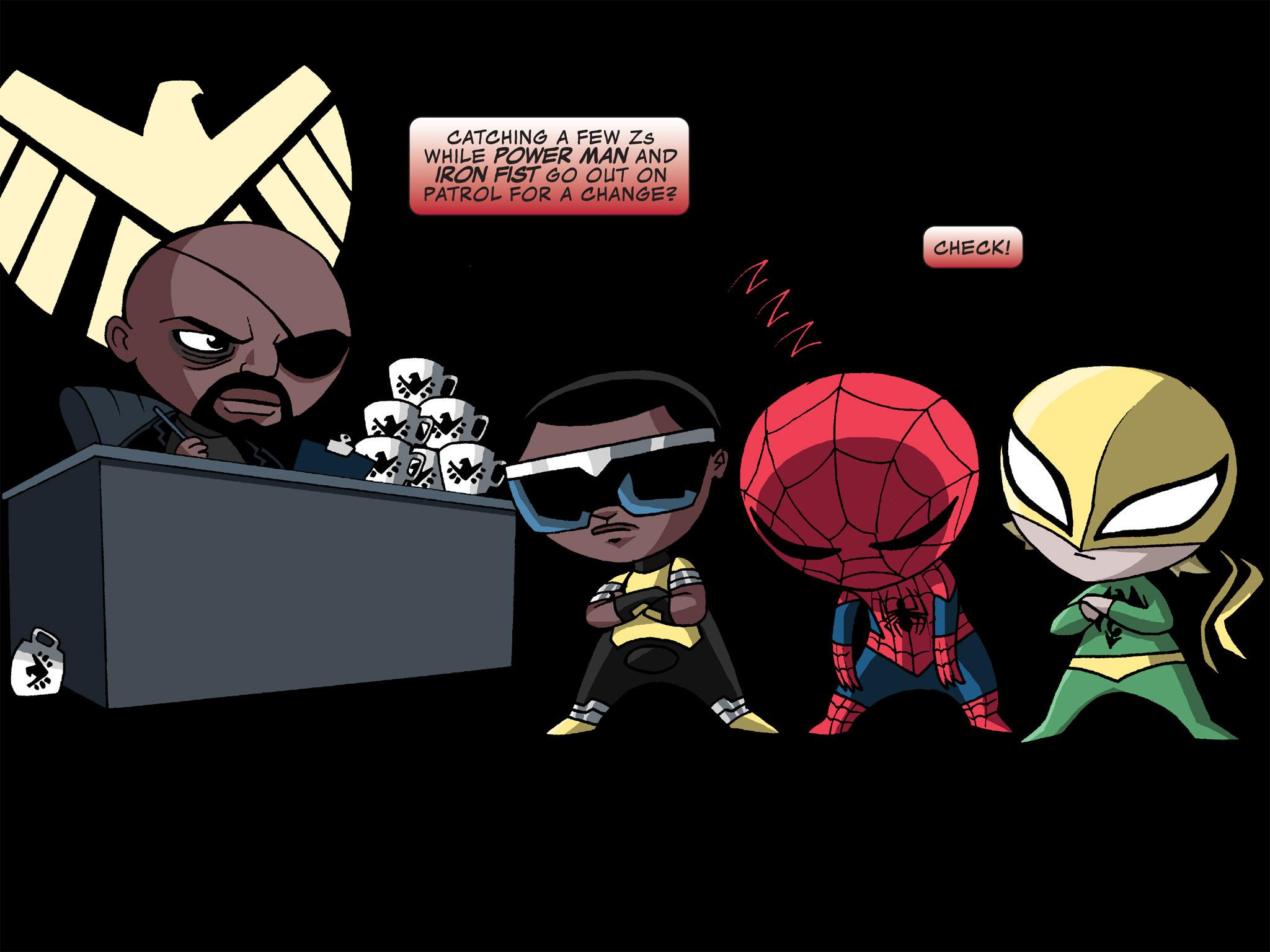 Read online Ultimate Spider-Man (Infinite Comics) (2015) comic -  Issue #12 - 19