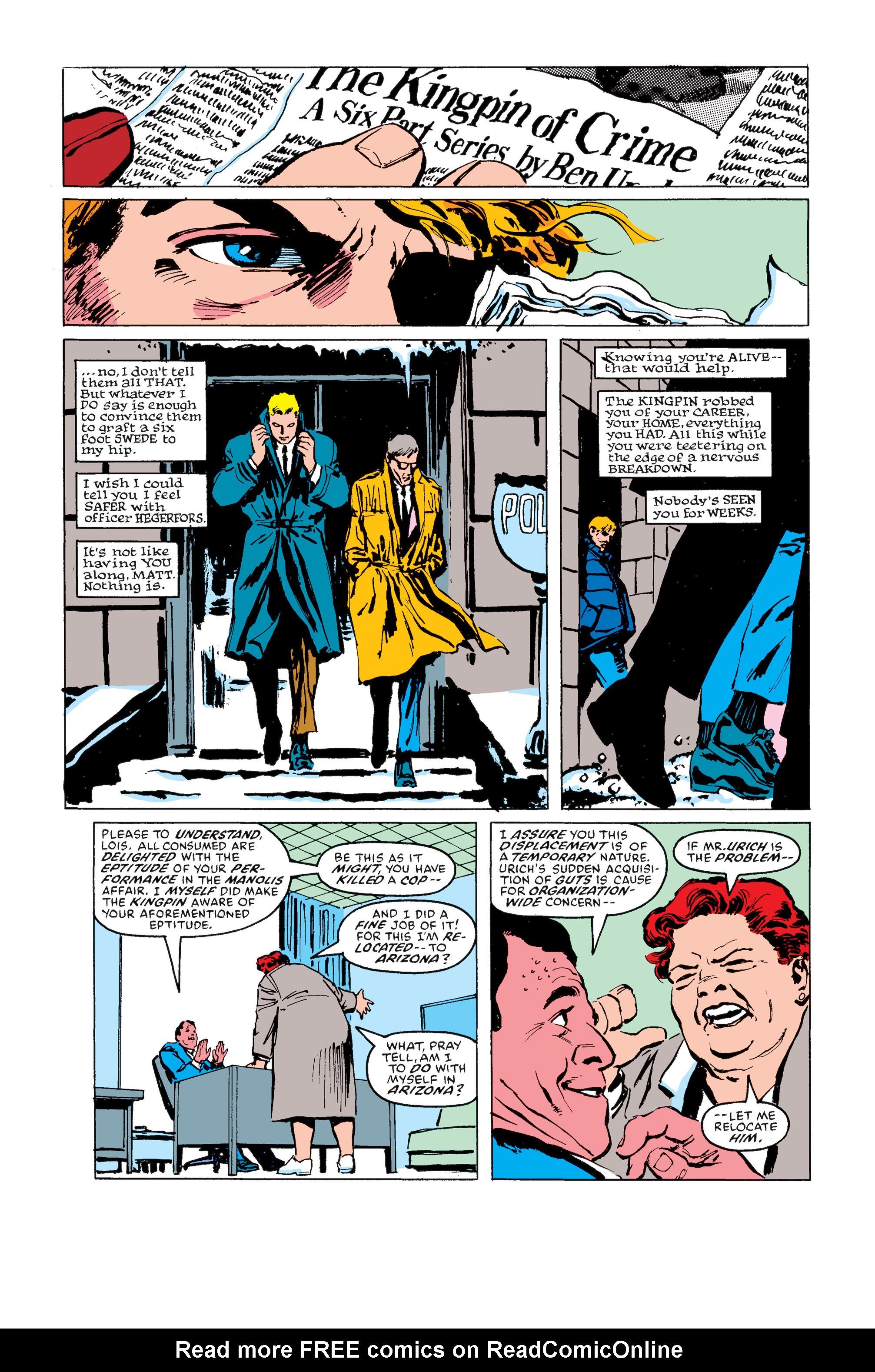 Read online Daredevil: Born Again comic -  Issue # Full - 127