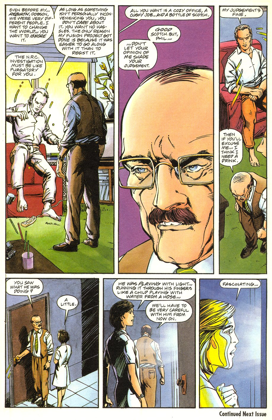 Read online Solar, Man of the Atom comic -  Issue #6 - 23