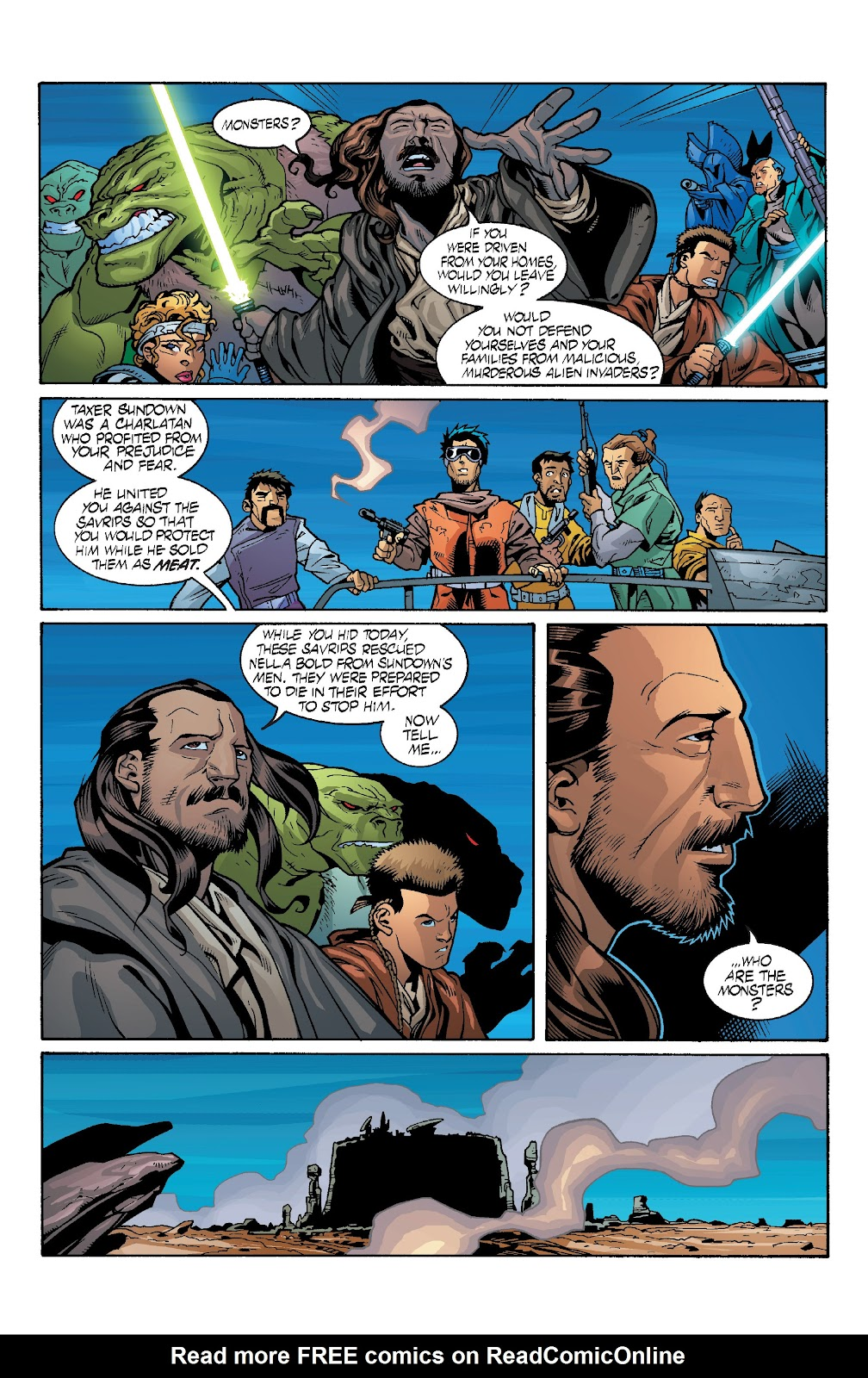 Read online Star Wars Legends: Rise of the Sith - Epic Collection comic -  Issue # TPB 1 (Part 4) - 42