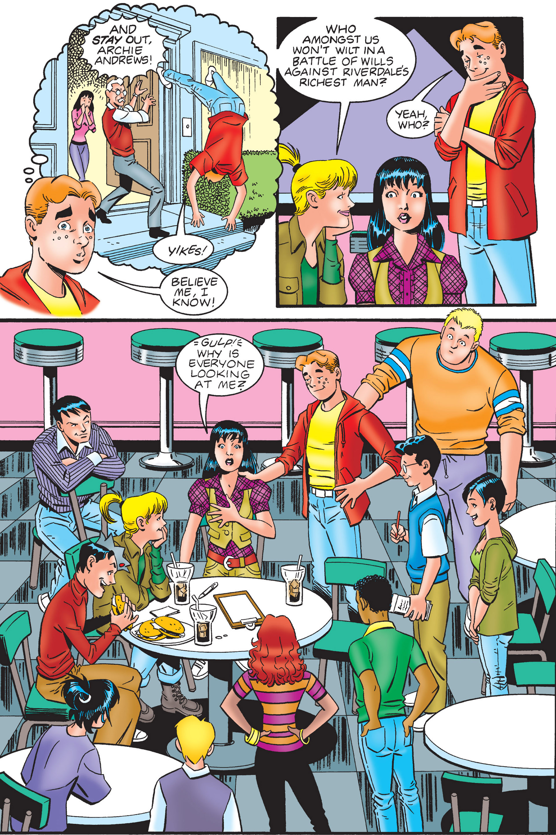 Read online Archie's New Look Series comic -  Issue #4 - 34