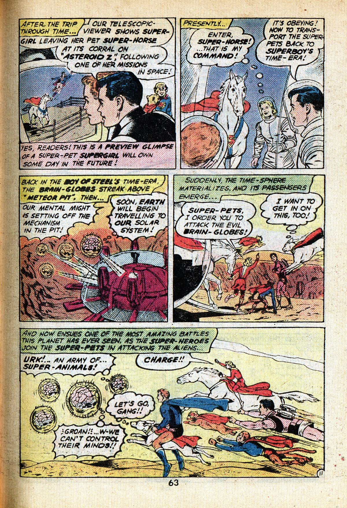 Read online Adventure Comics (1938) comic -  Issue #495 - 63