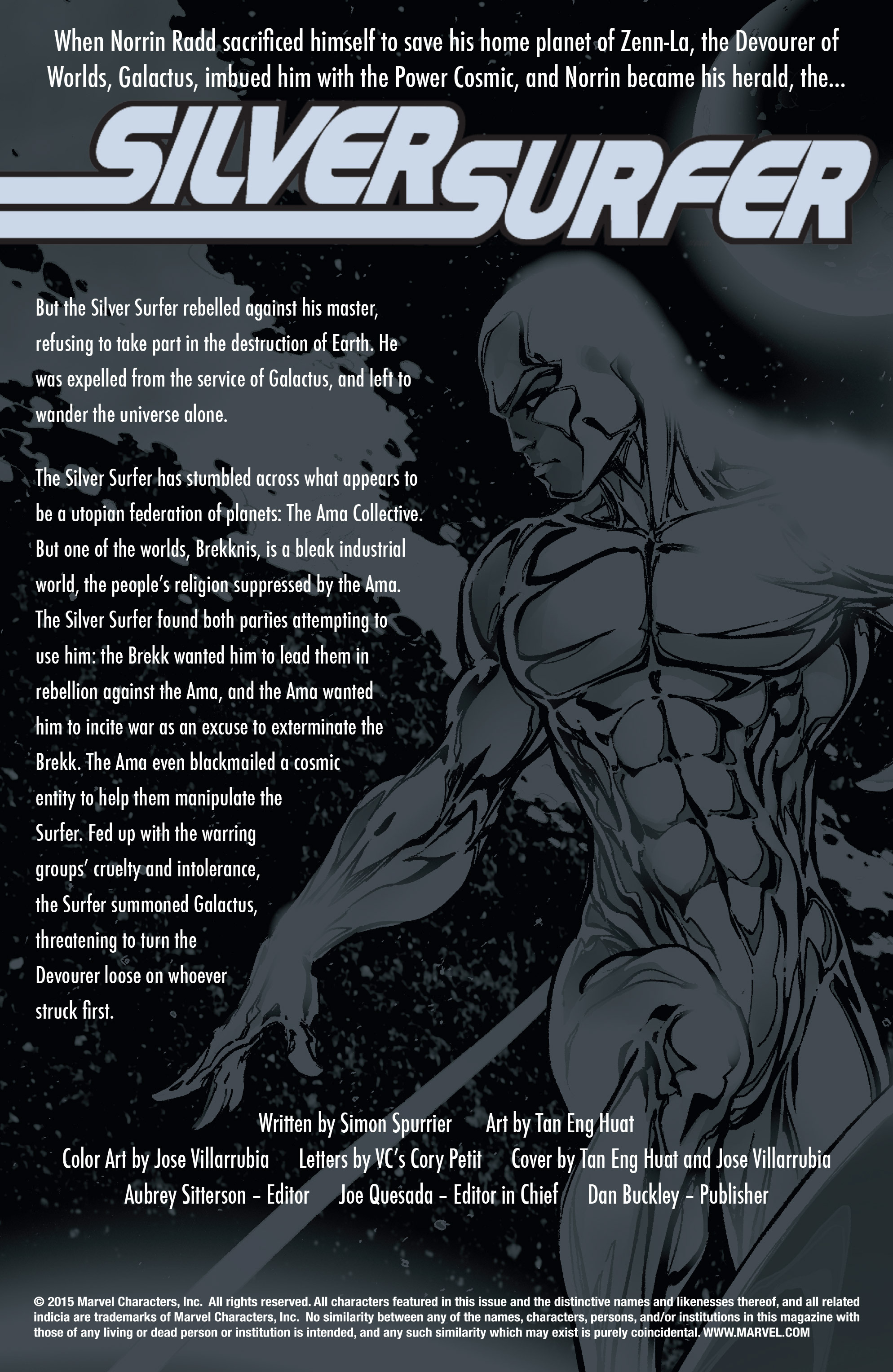 Read online Silver Surfer: In Thy Name comic -  Issue #4 - 2