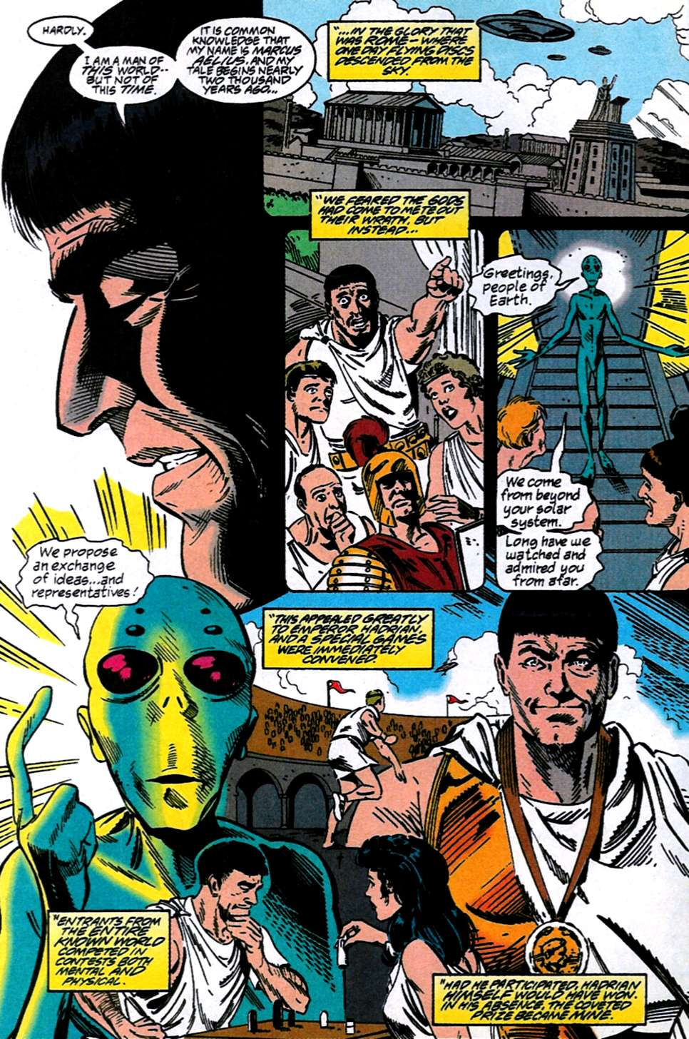 Read online Adventures of Superman (1987) comic -  Issue #516 - 17