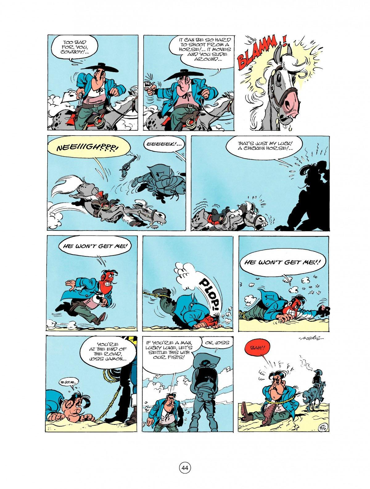 Read online A Lucky Luke Adventure comic -  Issue #27 - 45
