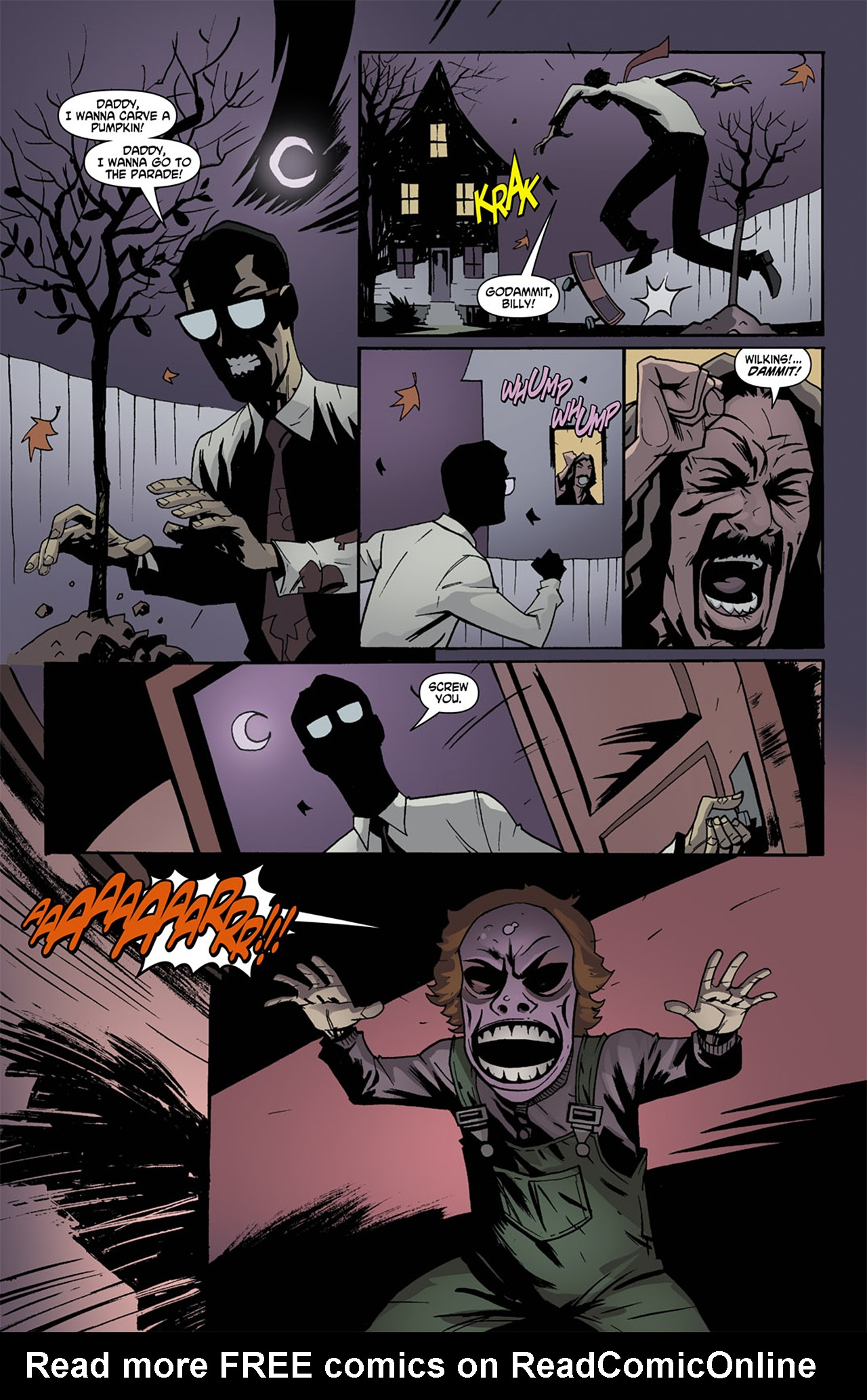 Read online Trick 'r Treat comic -  Issue #1 - 21