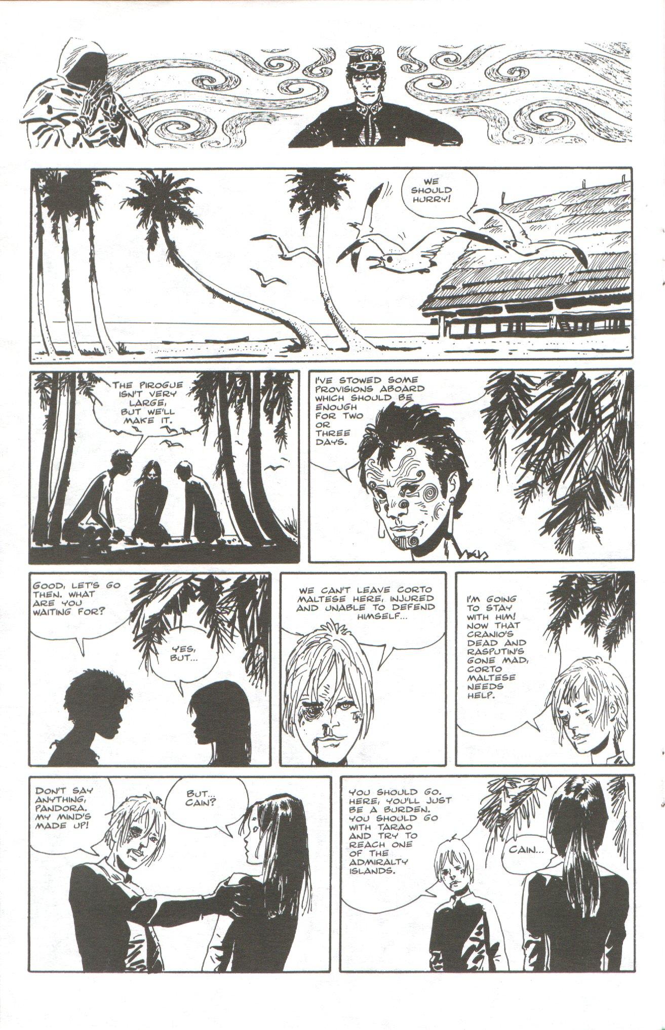 Read online Corto Maltese: Ballad of the Salt Sea comic -  Issue #5 - 16