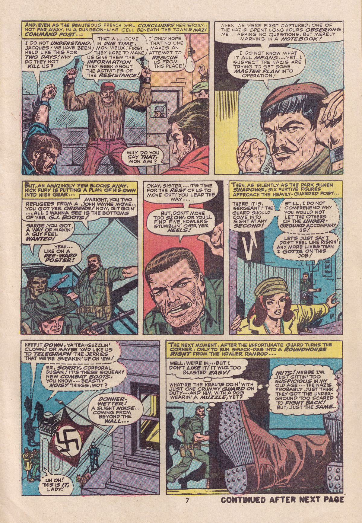 Read online Sgt. Fury comic -  Issue #113 - 9