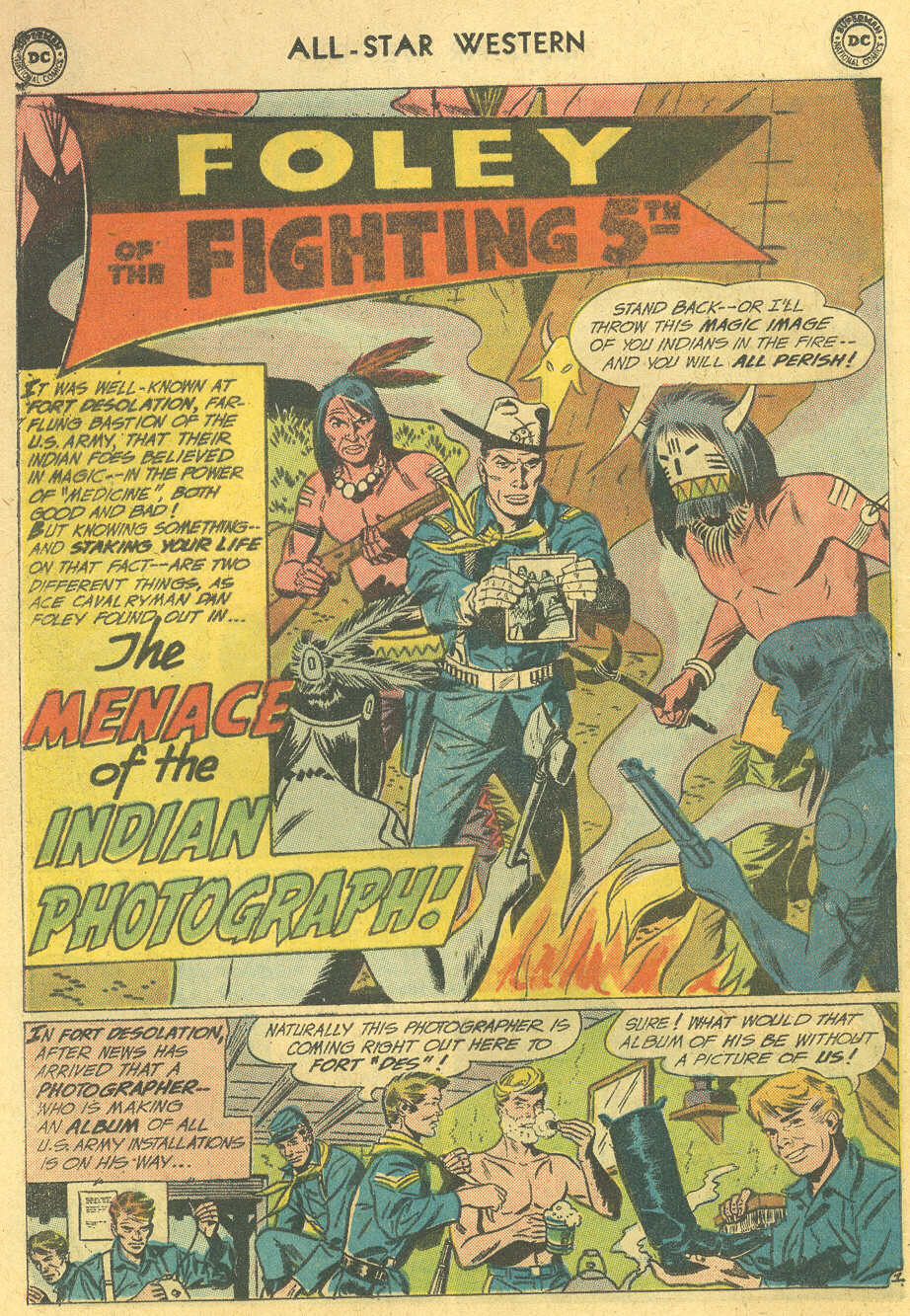 Read online All-Star Western (1951) comic -  Issue #114 - 16