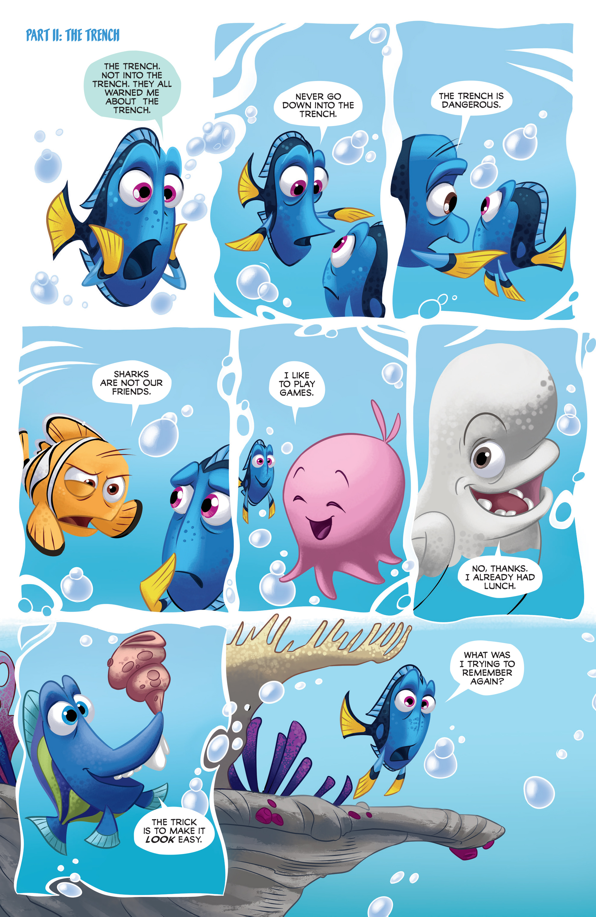 Read online Disney Pixar Finding Dory comic -  Issue #2 - 11
