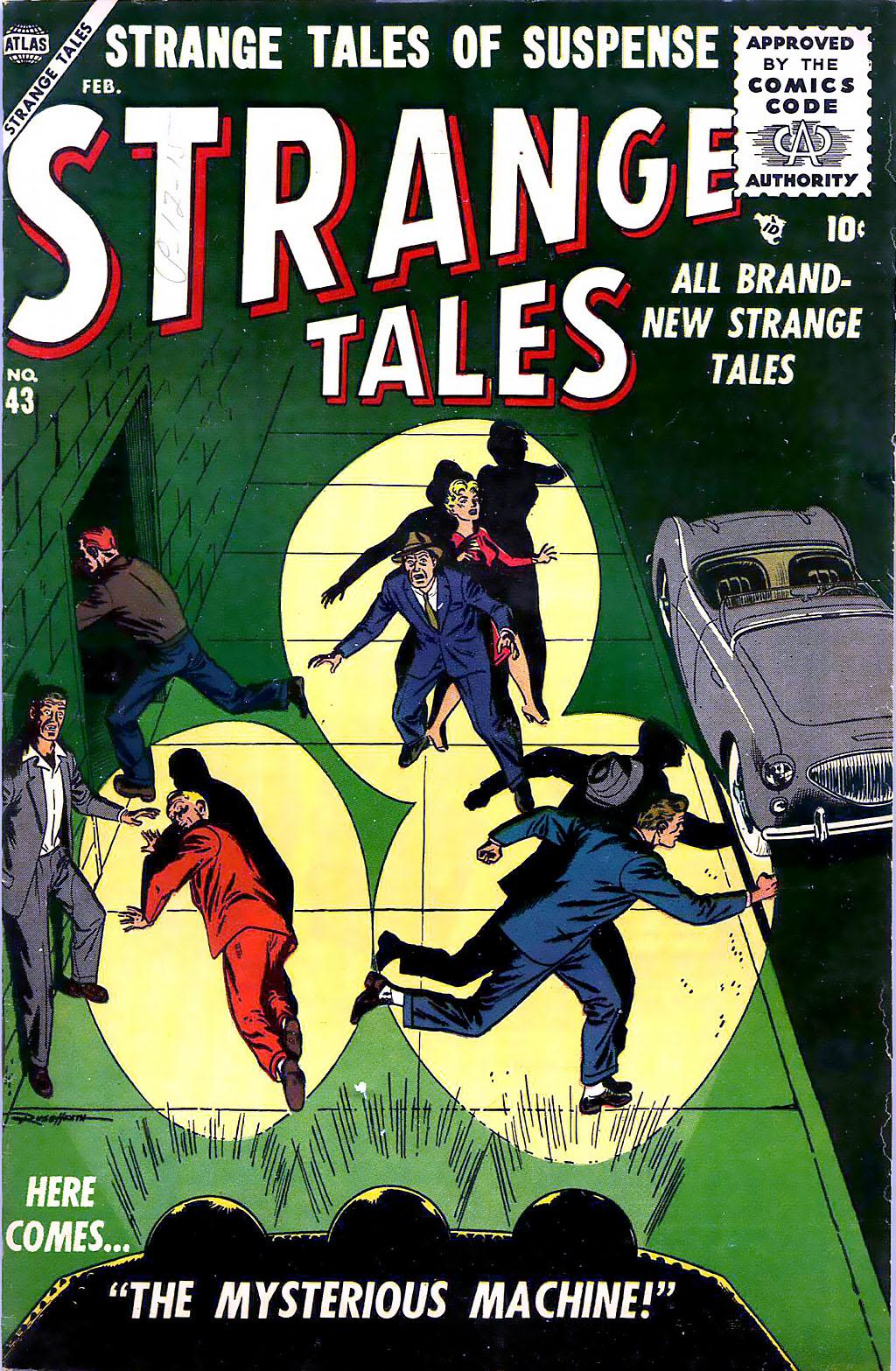 Strange Tales (1951) 43 Page 1
