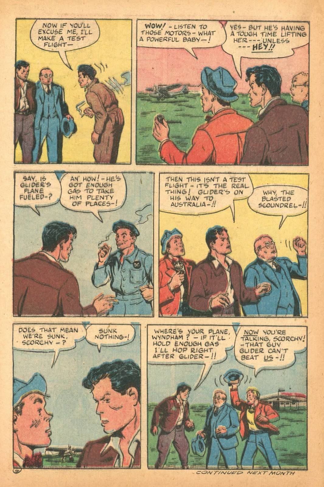Read online Famous Funnies comic -  Issue #132 - 28