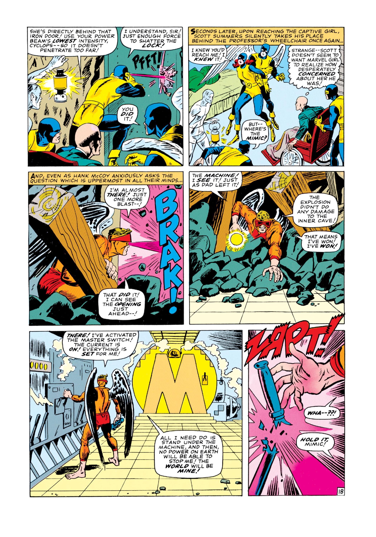 Read online Uncanny X-Men (1963) comic -  Issue #19 - 19