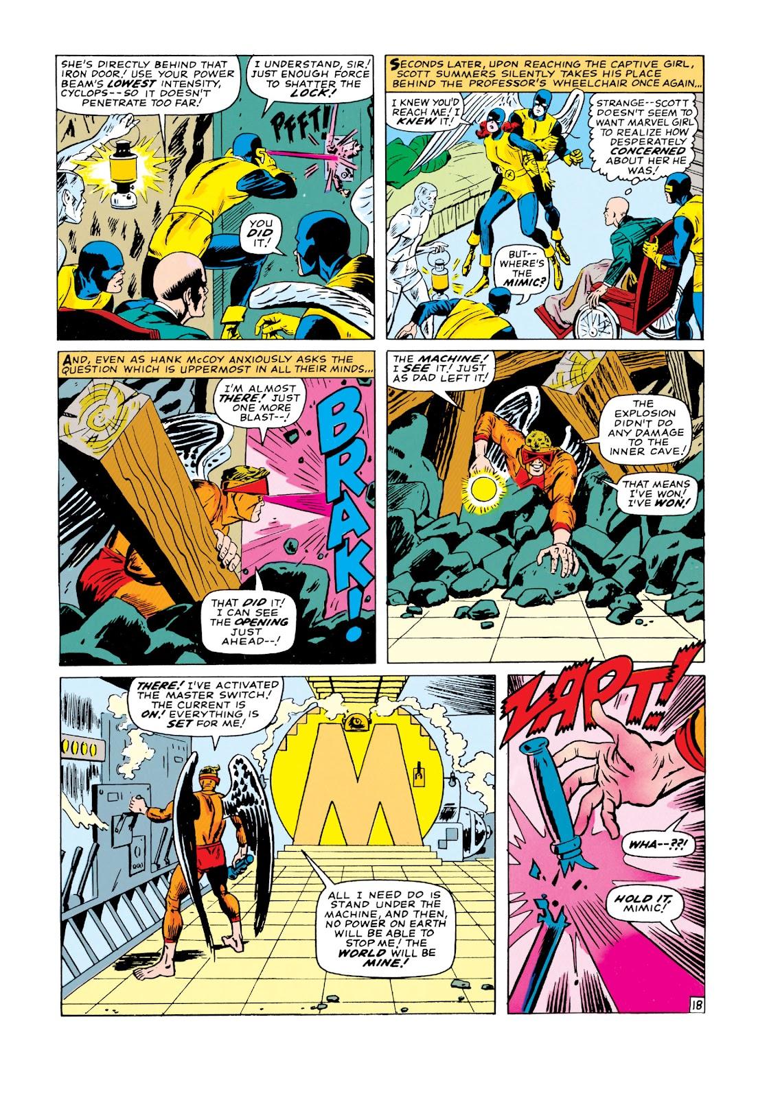 Uncanny X-Men (1963) issue 19 - Page 19