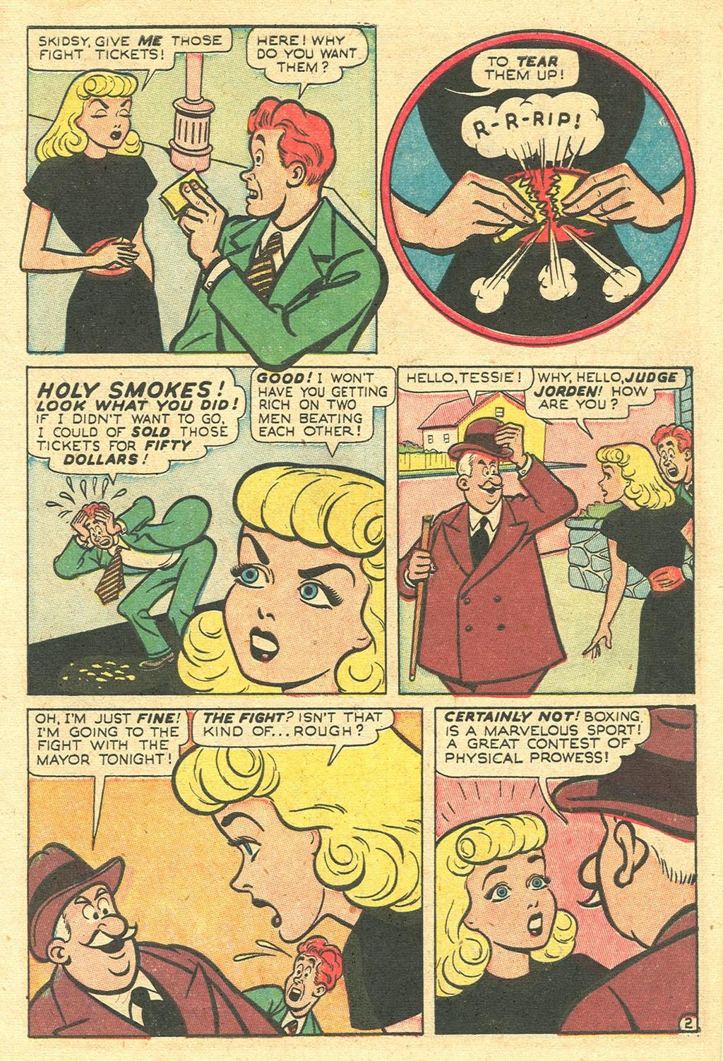 Tessie the Typist issue 11 - Page 5