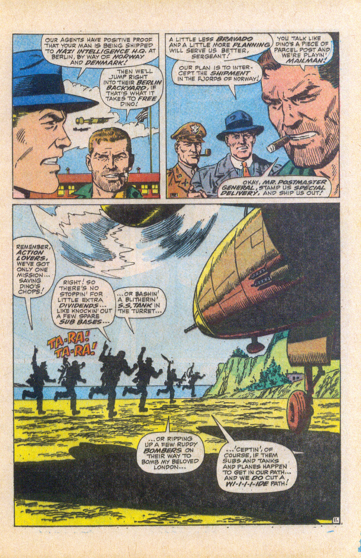 Read online Sgt. Fury comic -  Issue #58 - 17