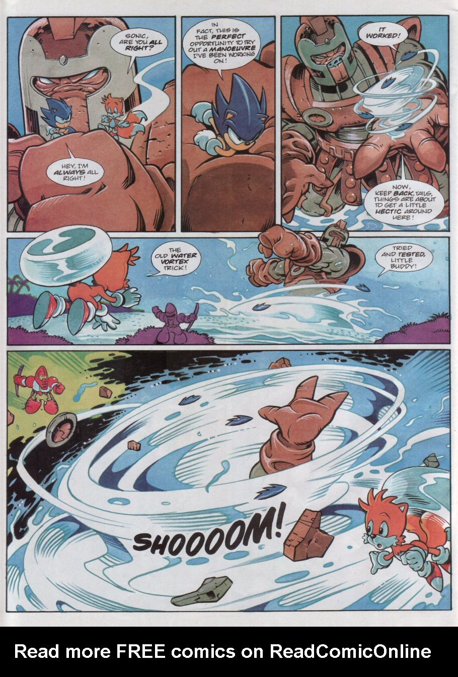 Read online Sonic the Comic comic -  Issue #118 - 6