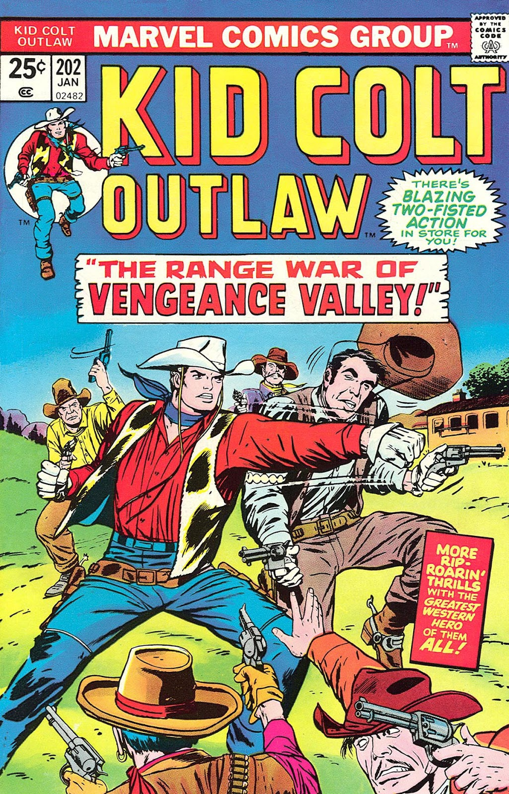 Kid Colt Outlaw issue 202 - Page 1