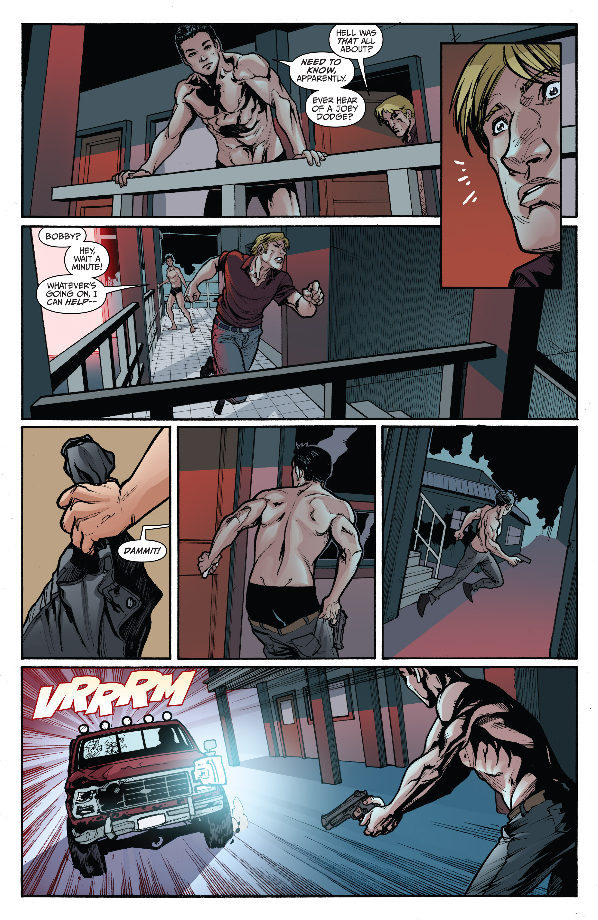 Read online 3 Guns comic -  Issue #3 - 6