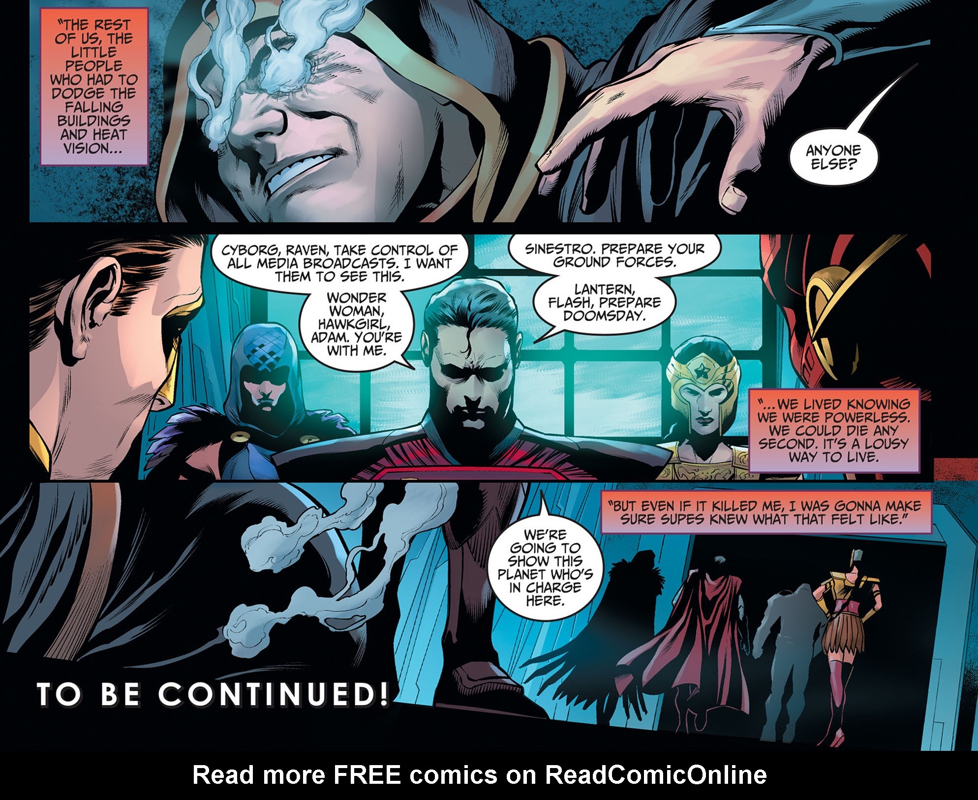 Read online Injustice: Ground Zero comic -  Issue #20 - 23
