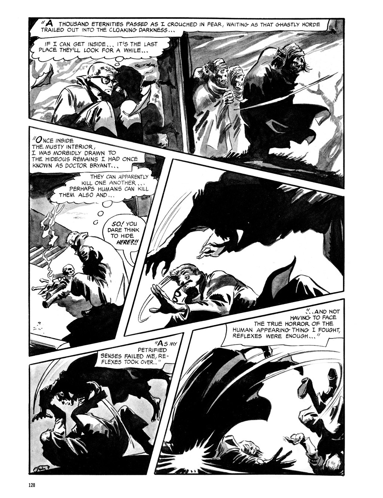 Read online Eerie Archives comic -  Issue # TPB 2 - 129