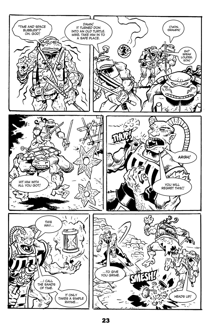 Read online Tales of the TMNT comic -  Issue #71 - 27