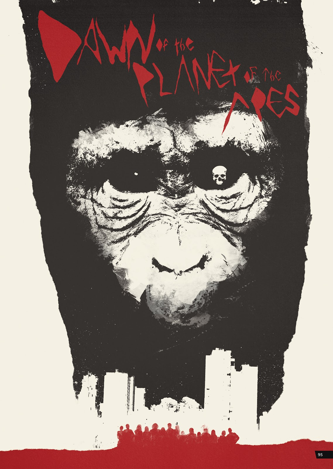 Read online Planet of the Apes Artist Tribute comic -  Issue # TPB - 95