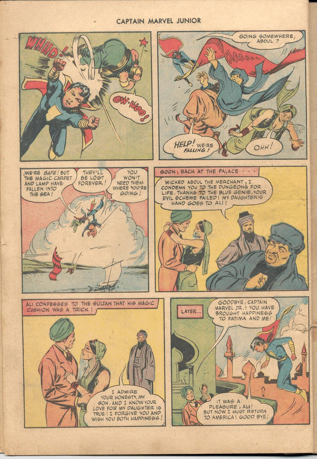 Captain Marvel, Jr. issue 38 - Page 11