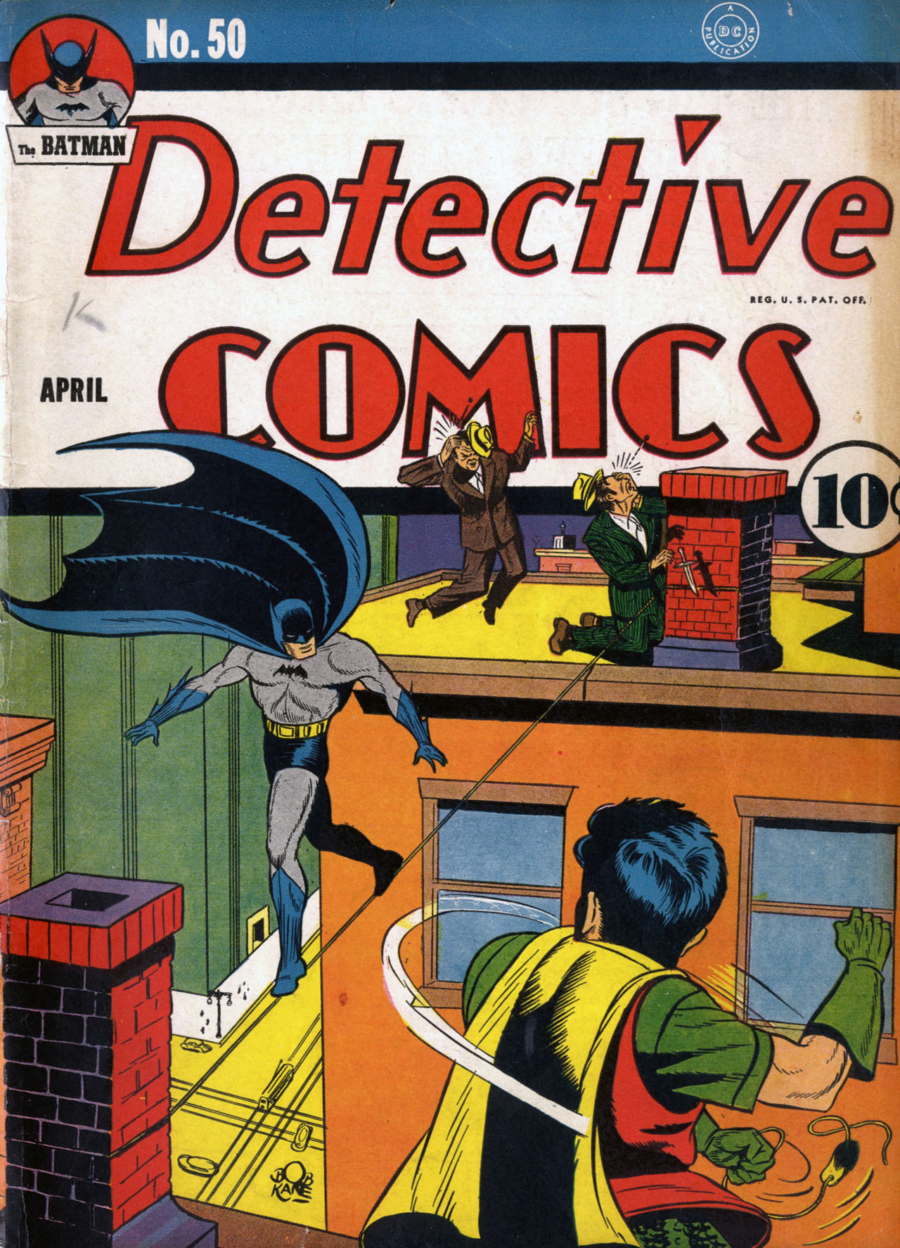 Detective Comics (1937) 50 Page 1