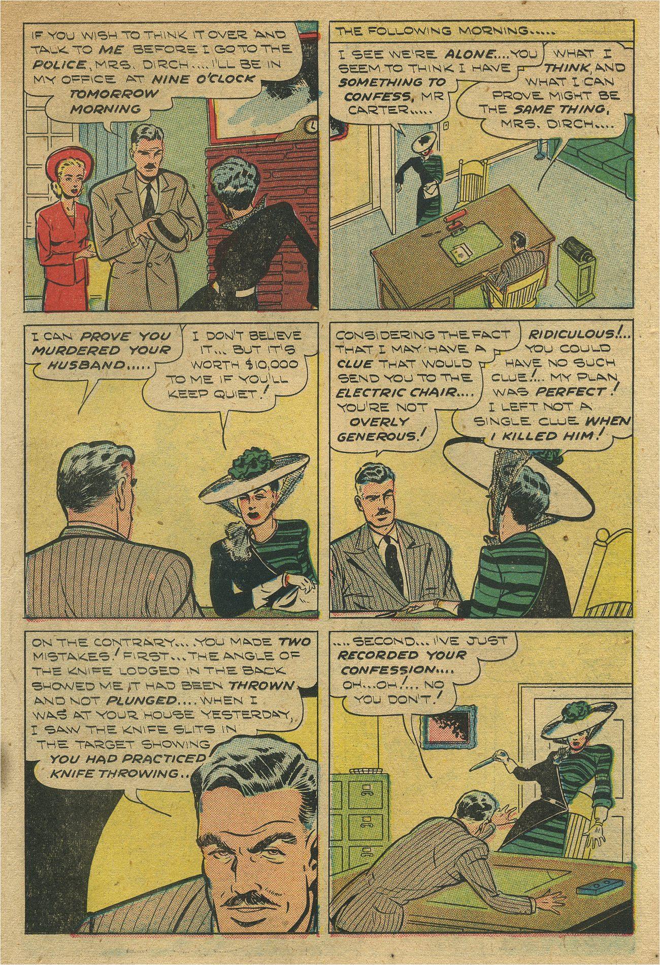 Read online Shadow Comics comic -  Issue #93 - 20