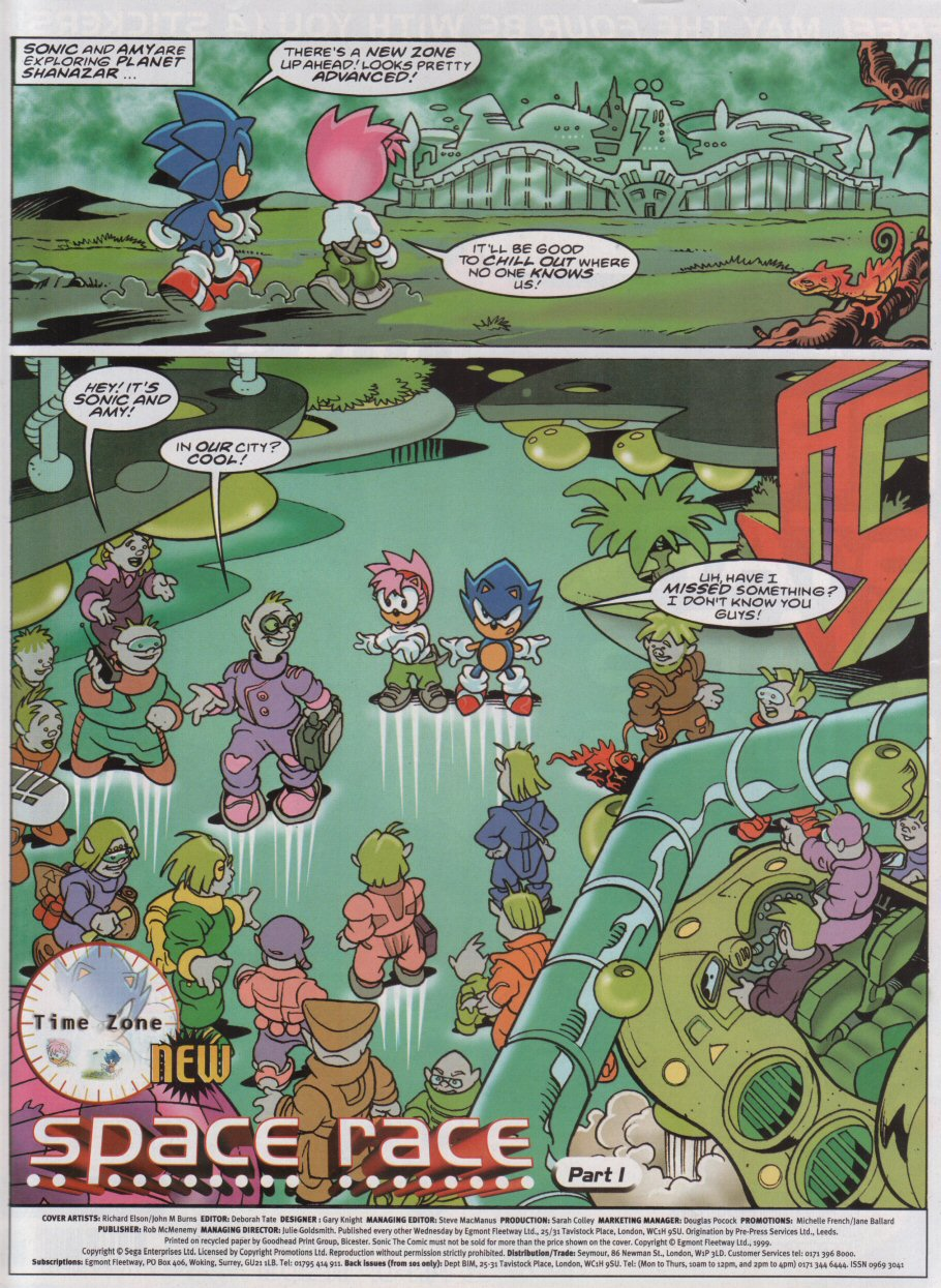 Read online Sonic the Comic comic -  Issue #161 - 2