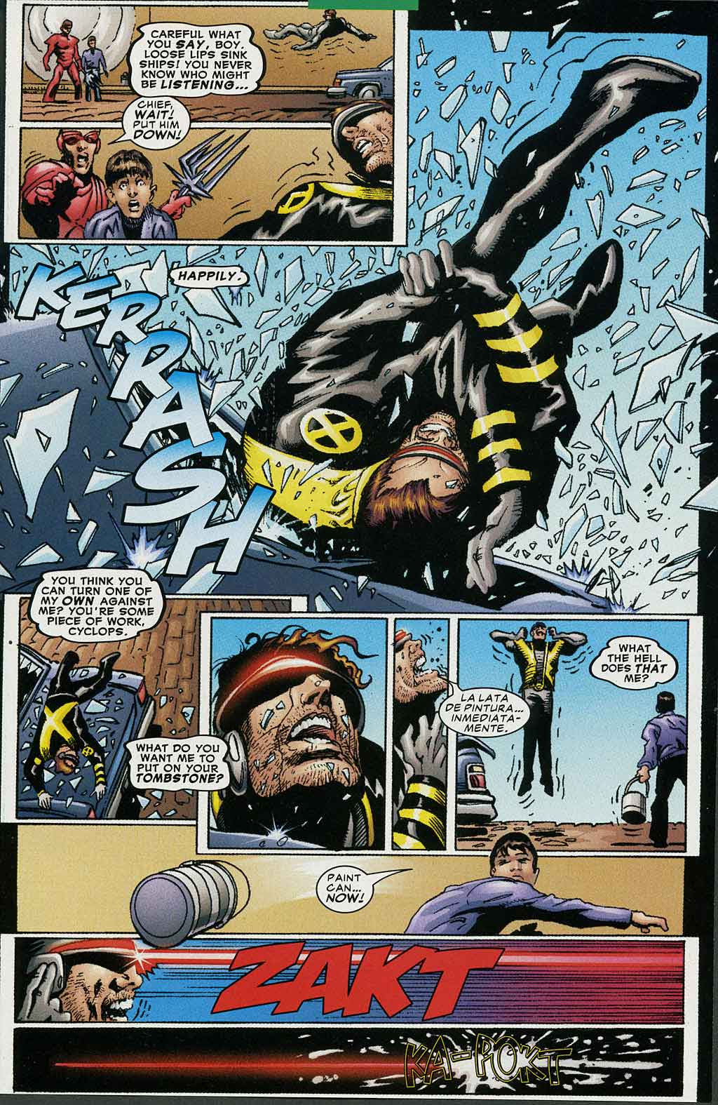Read online Cyclops (2001) comic -  Issue #4 - 18