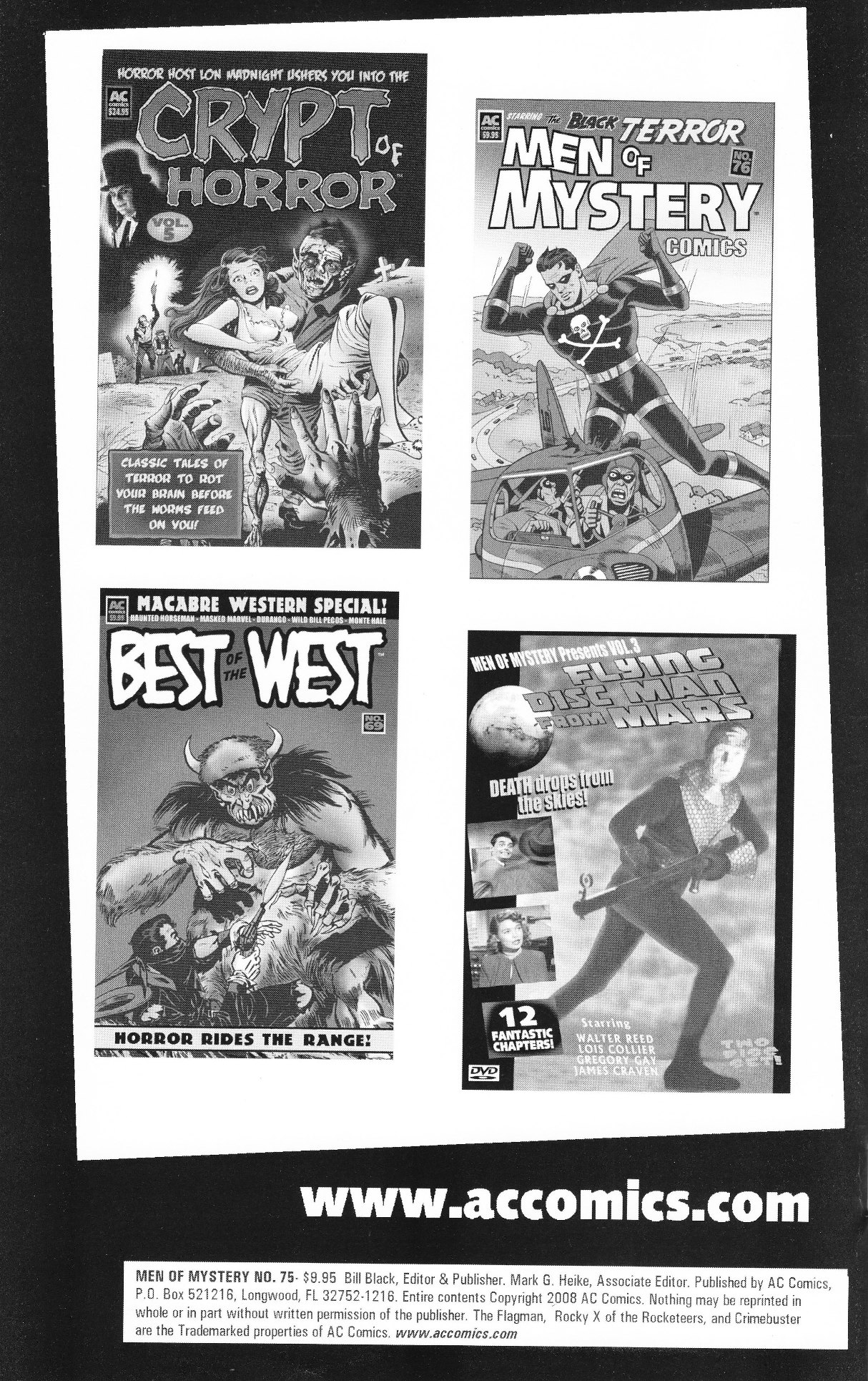 Read online Men of Mystery Comics comic -  Issue #75 - 2