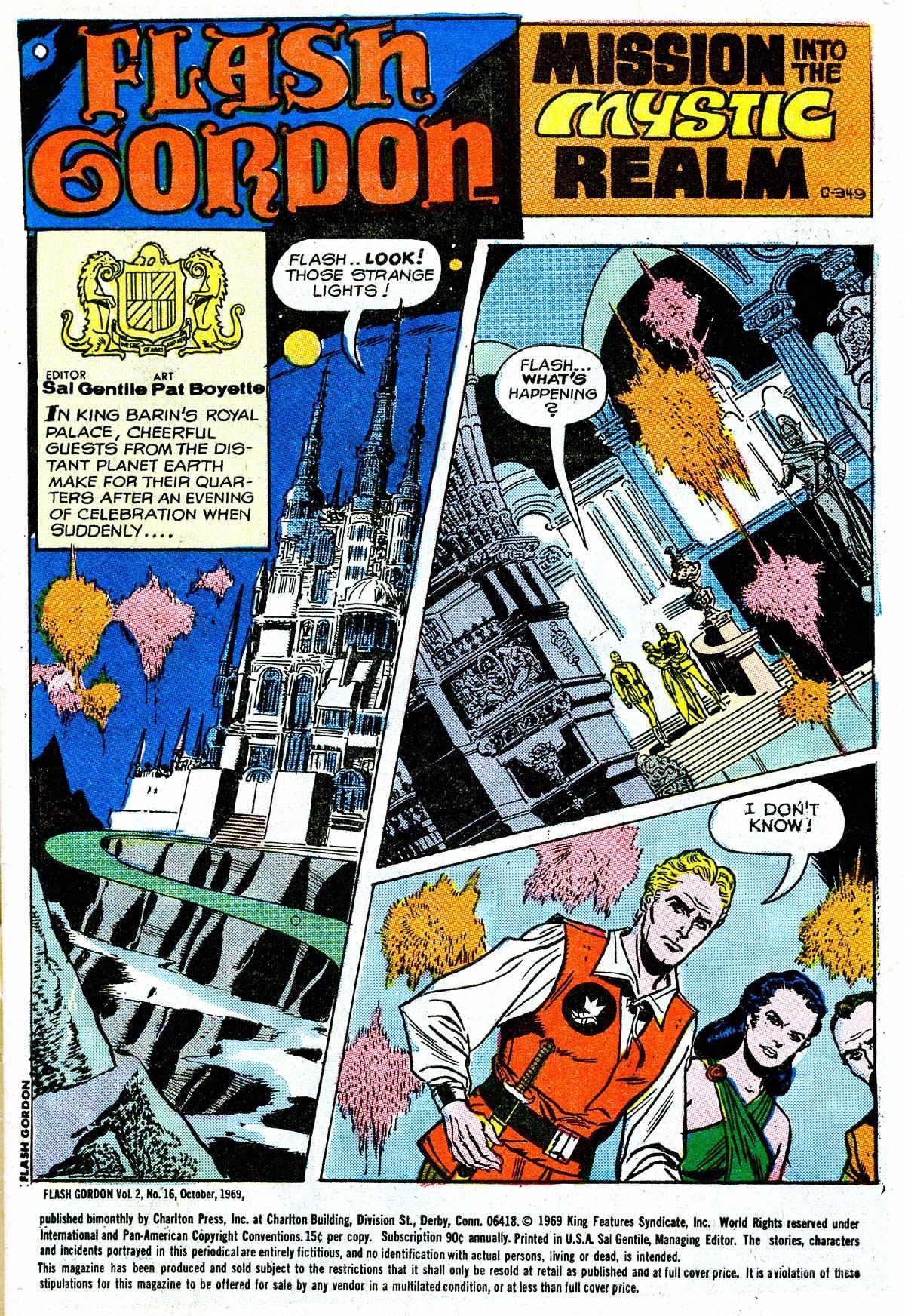 Flash Gordon (1969) issue 16 - Page 2