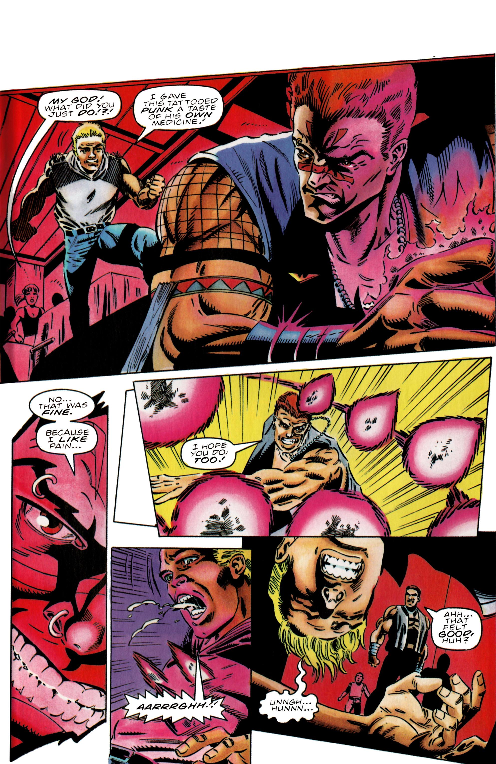 Read online Harbinger (1992) comic -  Issue #38 - 18
