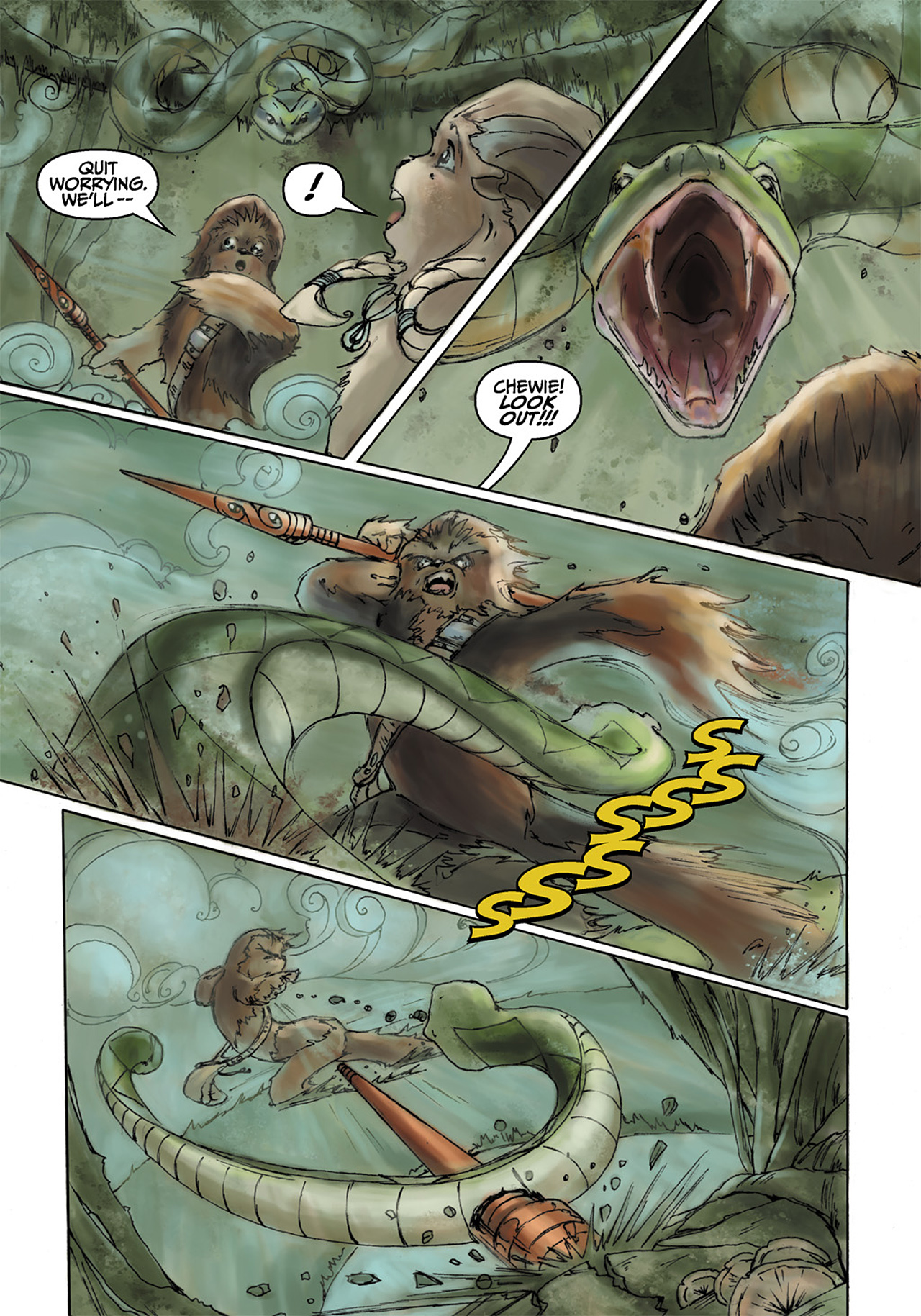 Read online Star Wars Omnibus comic -  Issue # Vol. 33 - 412