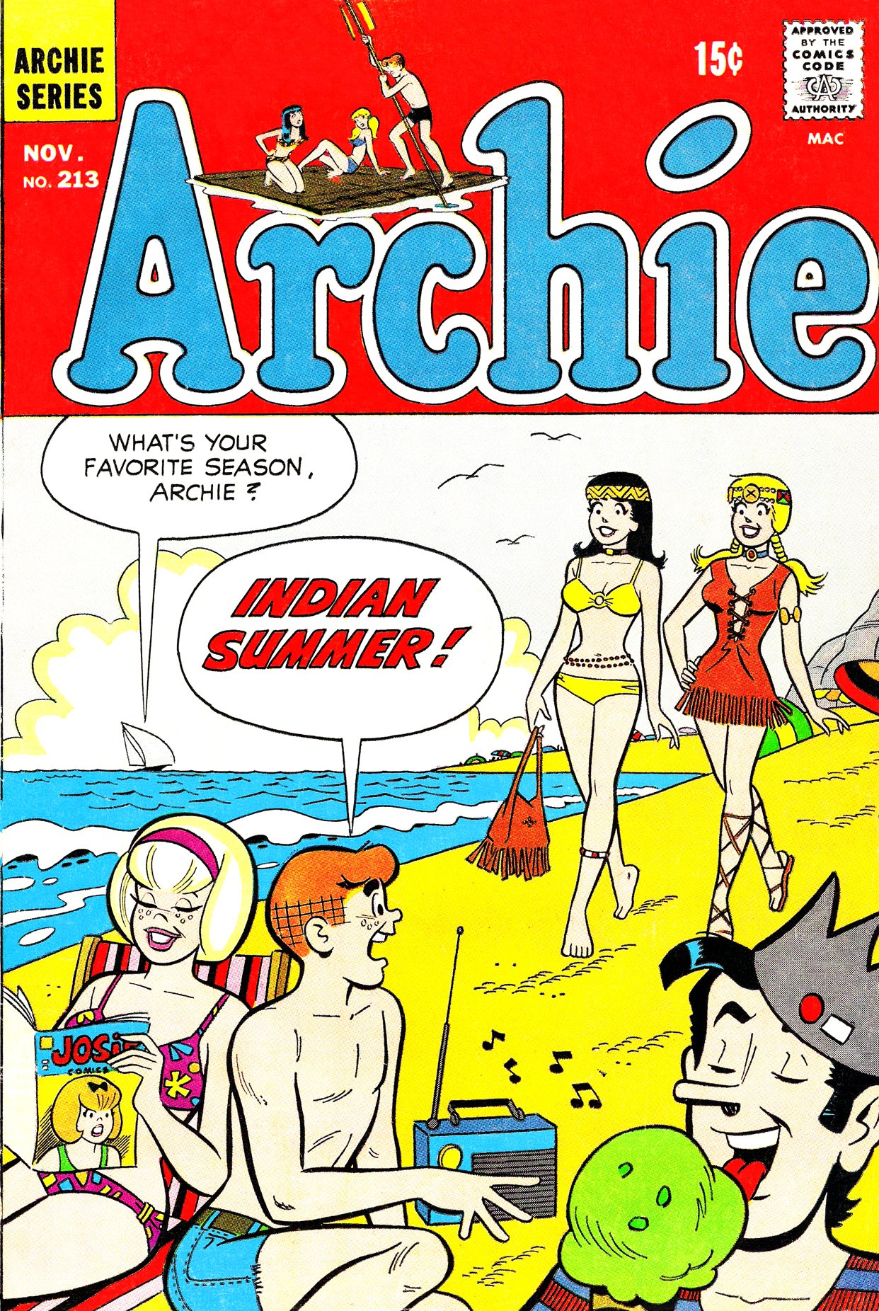 Read online Archie (1960) comic -  Issue #213 - 1