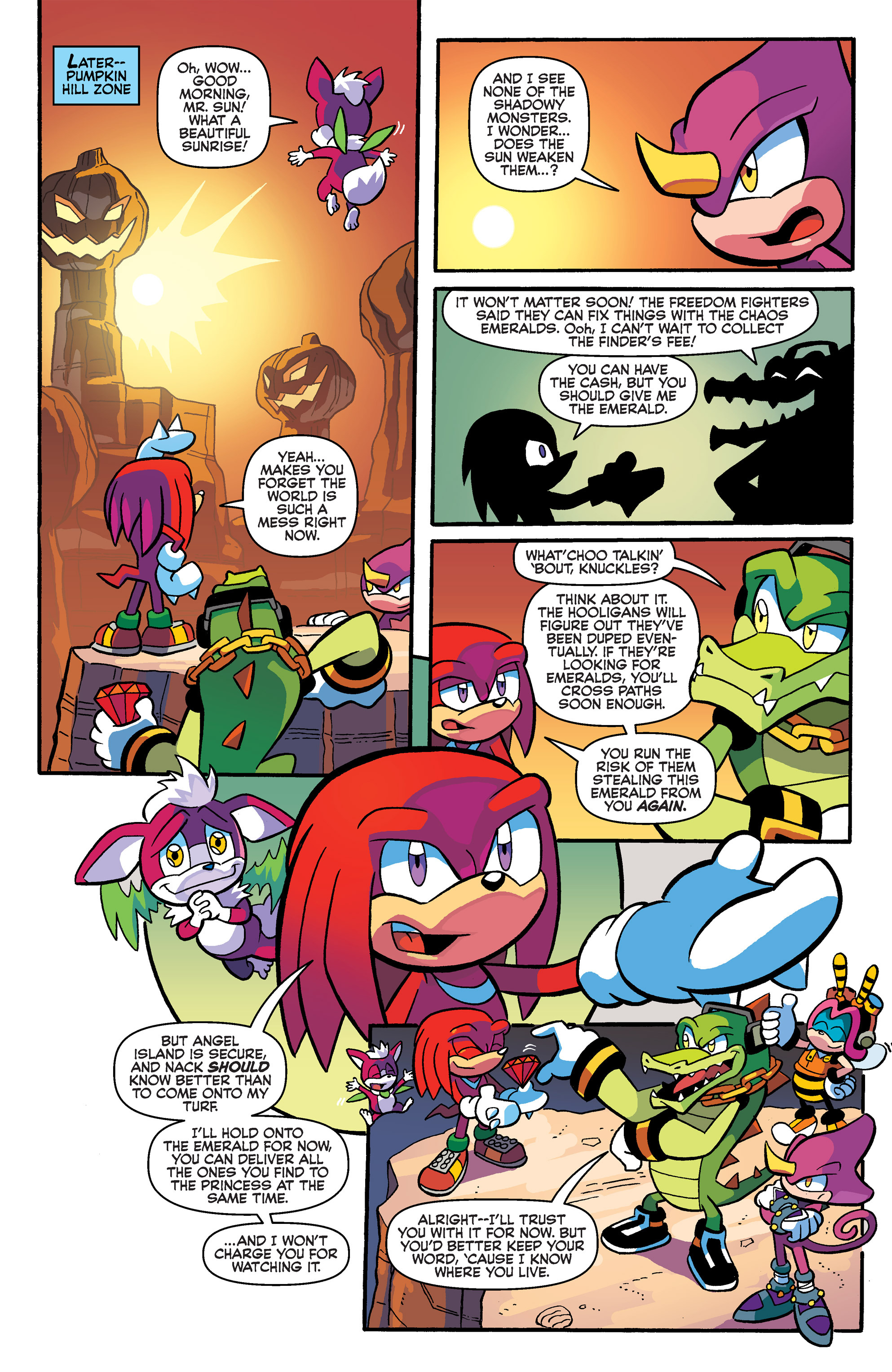 Read online Sonic Universe comic -  Issue #66 - 20