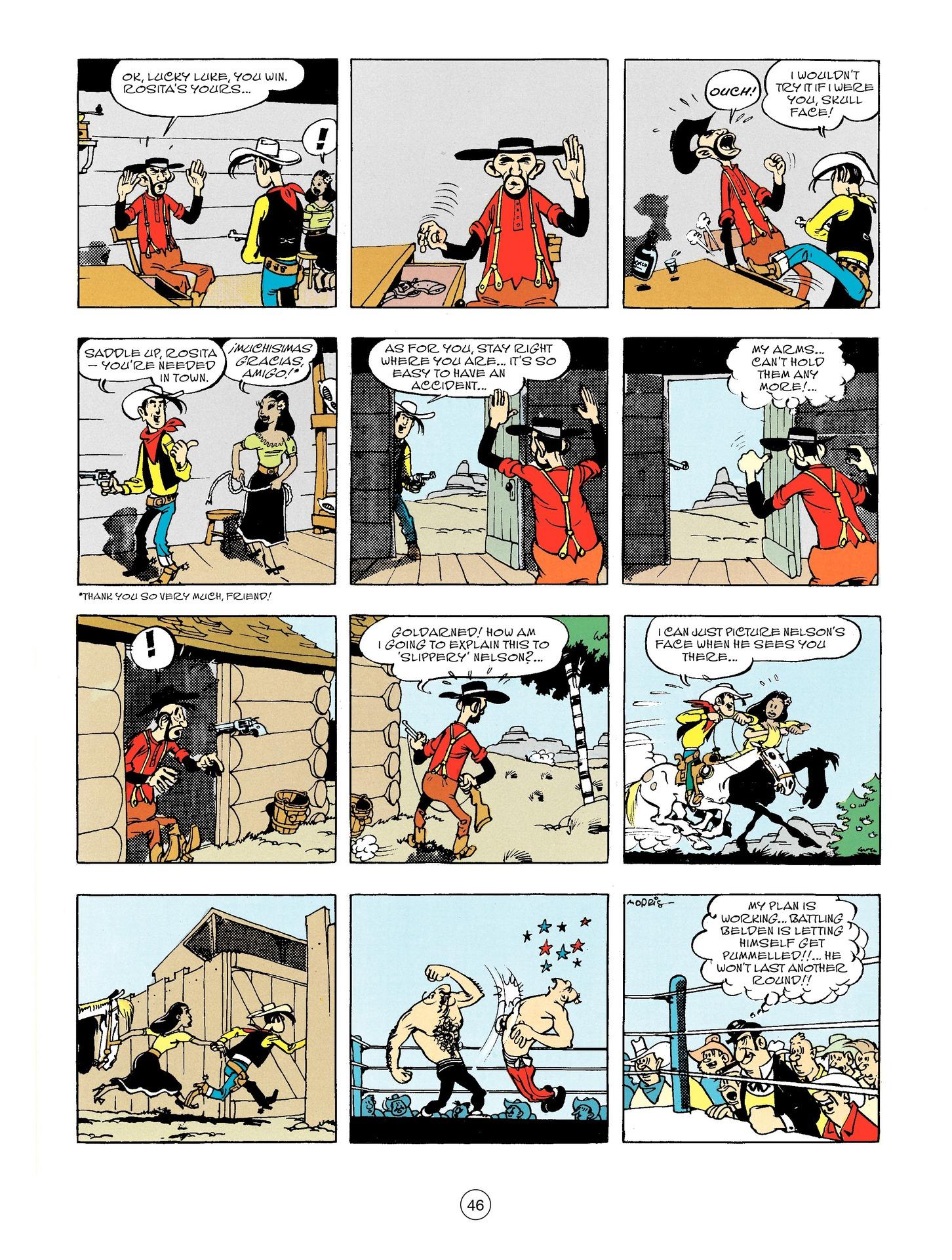 Read online A Lucky Luke Adventure comic -  Issue #56 - 46