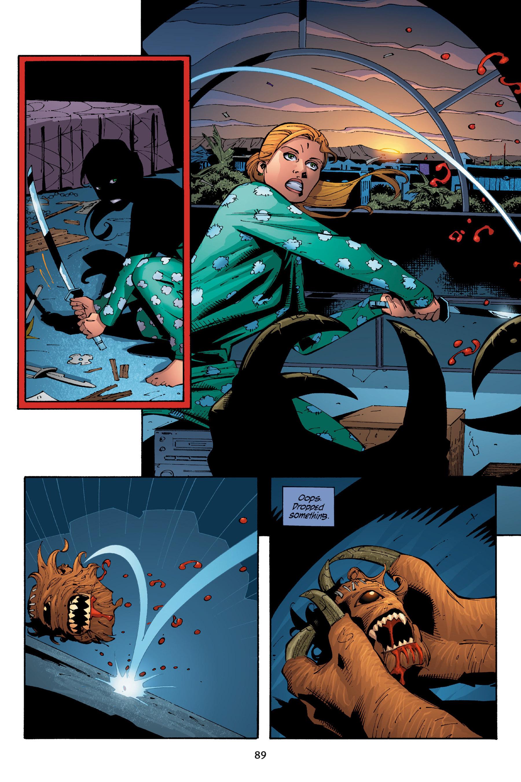 Read online Buffy the Vampire Slayer: Omnibus comic -  Issue # TPB 5 - 90