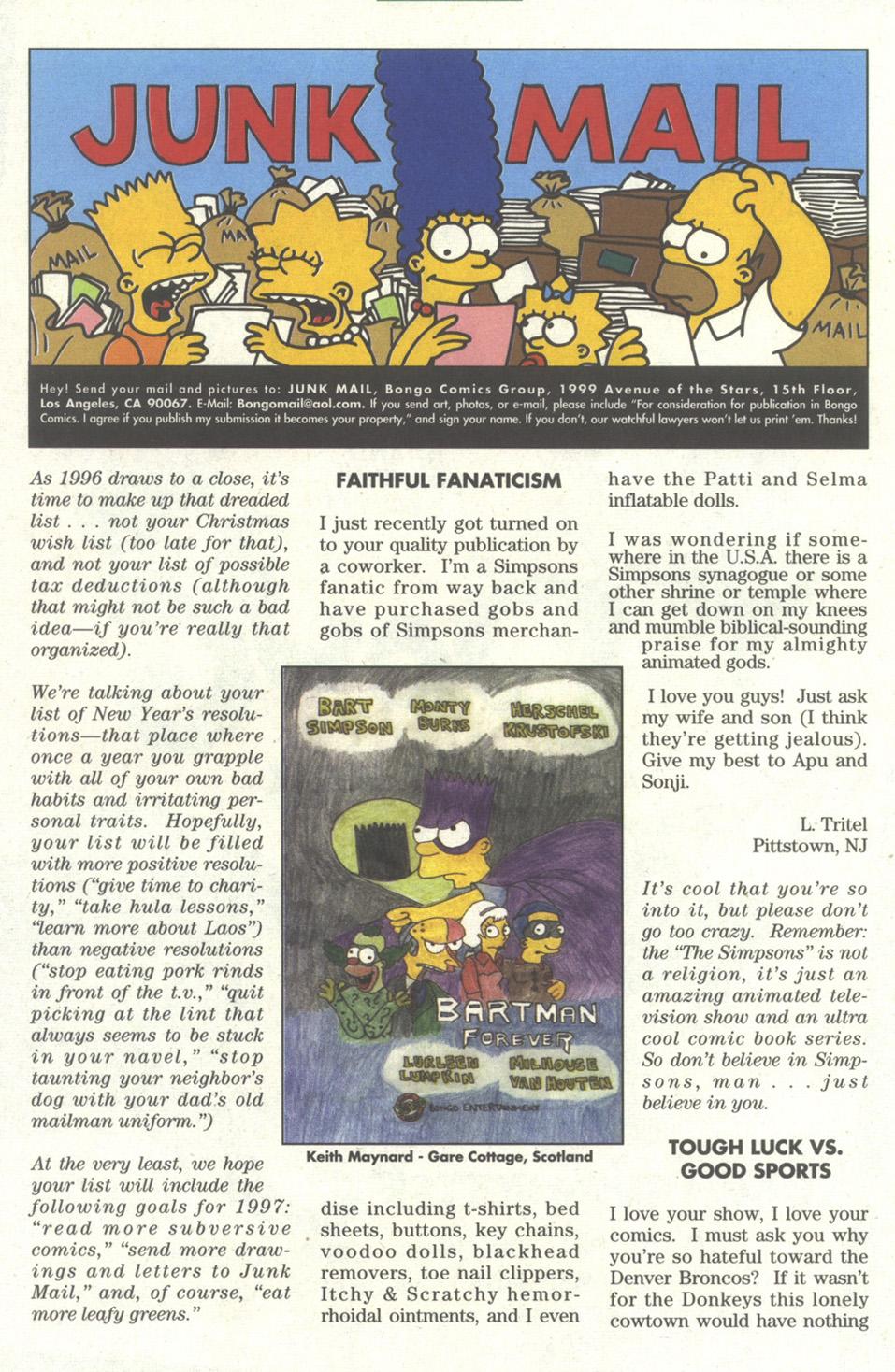 Read online Simpsons Comics comic -  Issue #27 - 24