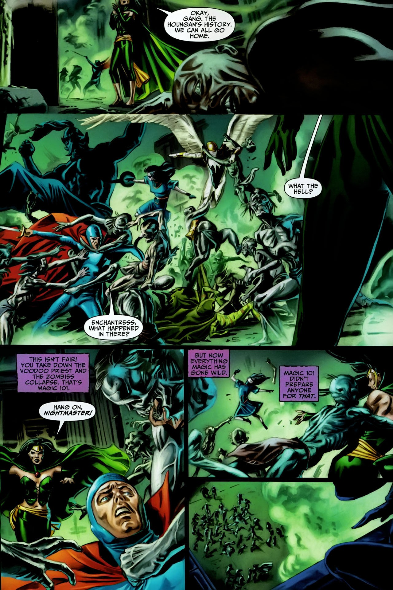 Read online Shadowpact comic -  Issue #17 - 6