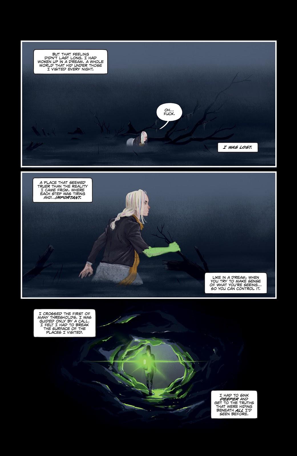 Read online Nomen Omen comic -  Issue #6 - 7