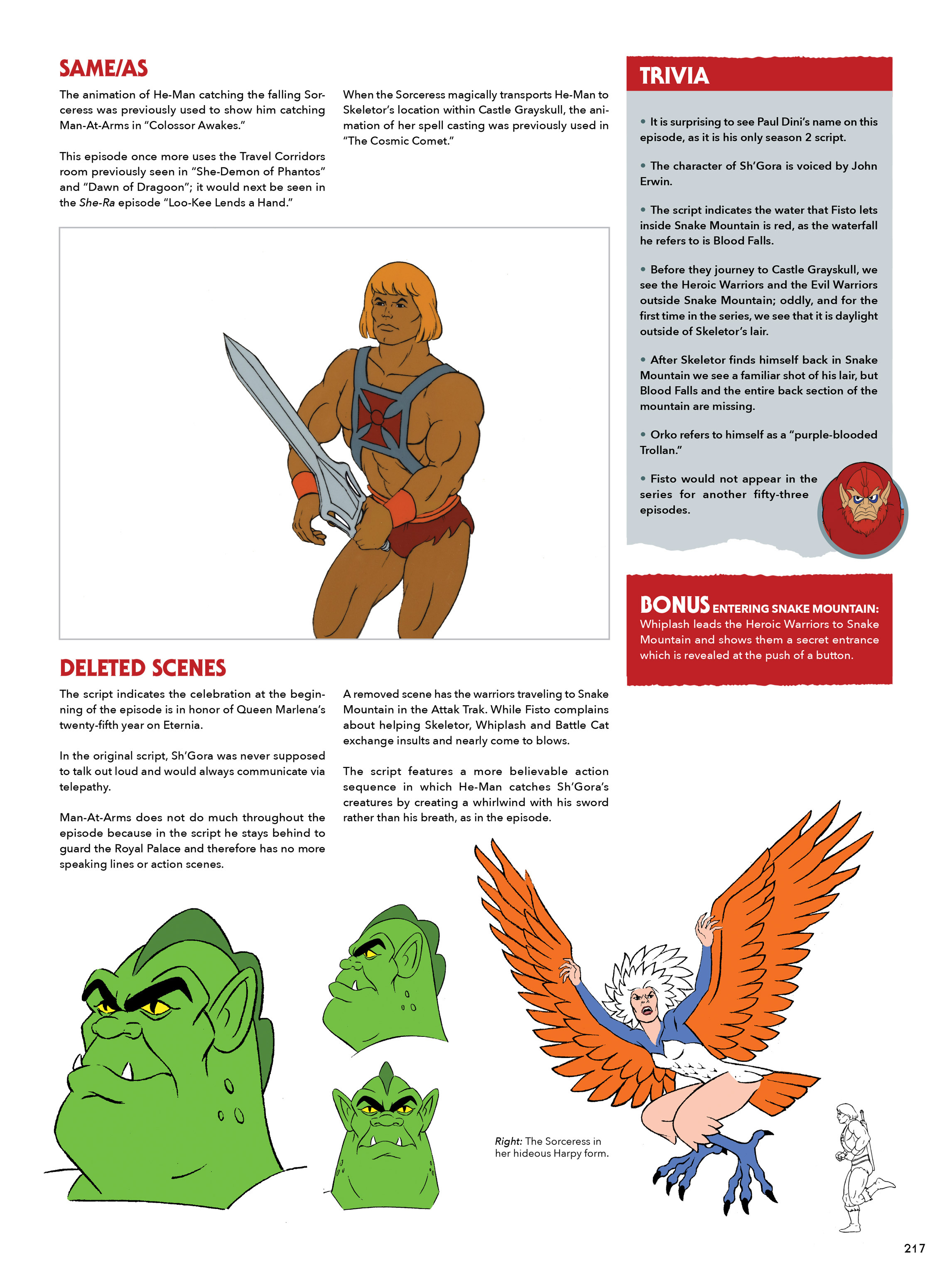 Read online He-Man and She-Ra: A Complete Guide to the Classic Animated Adventures comic -  Issue # TPB (Part 2) - 18
