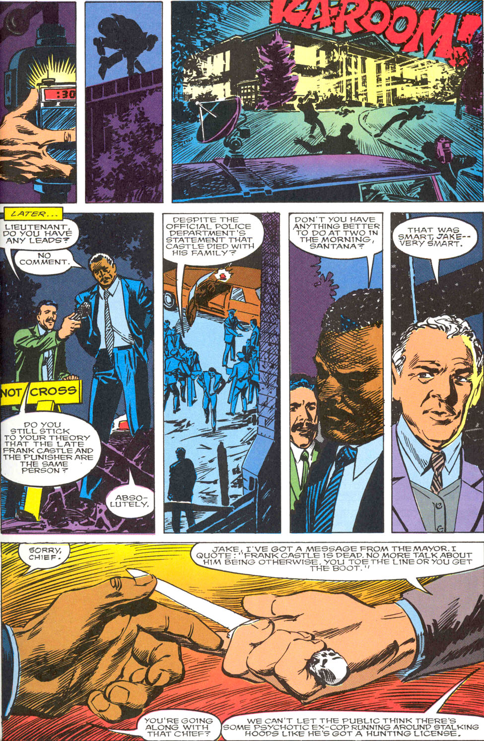 The Punisher Movie Special issue Full - Page 21