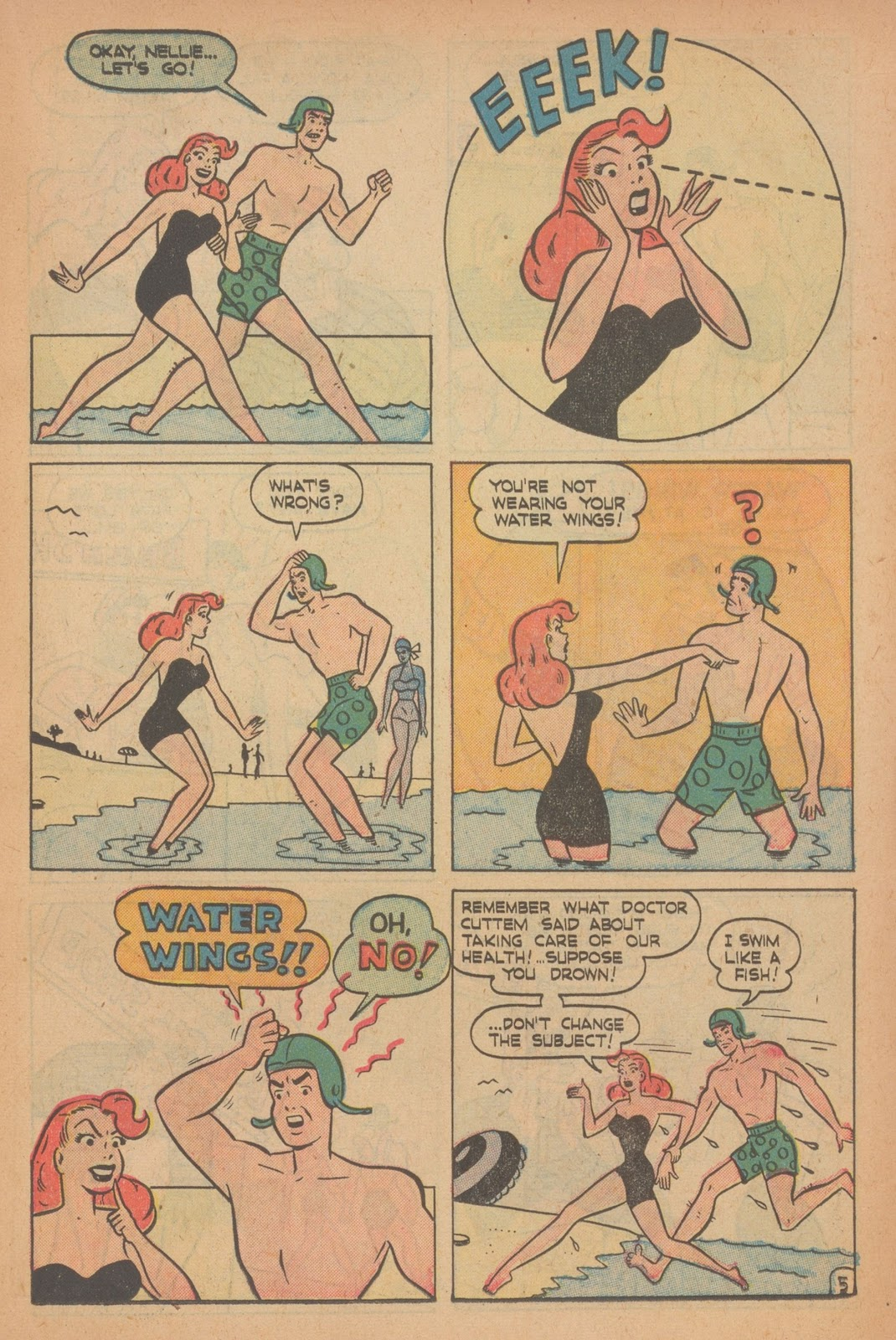 Read online Nellie The Nurse (1945) comic -  Issue #22 - 15